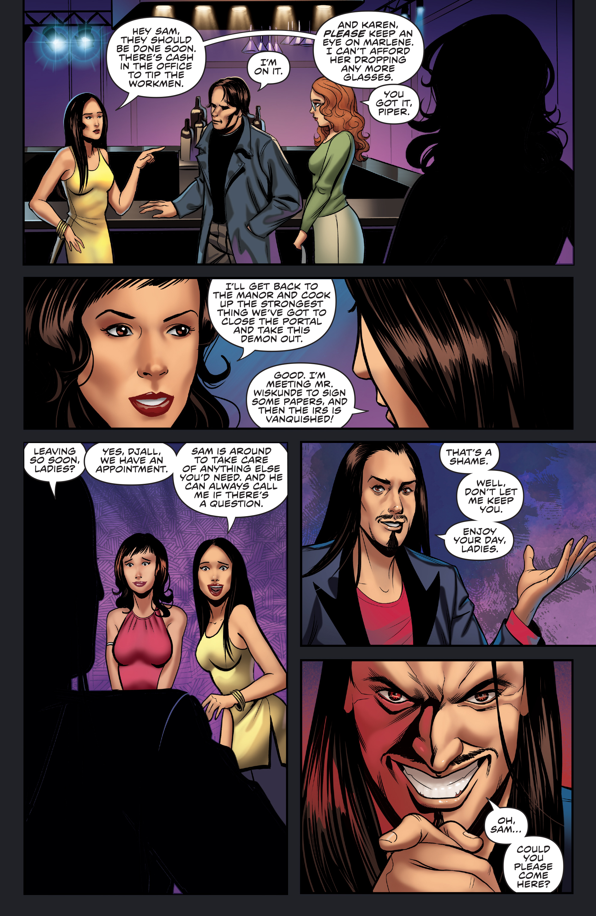 Read online Charmed (2017) comic -  Issue #3 - 18
