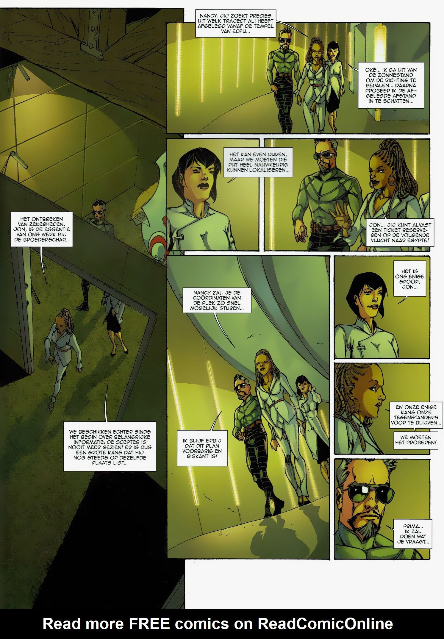 Read online Assassin's Creed (2009) comic -  Issue #6 - 32