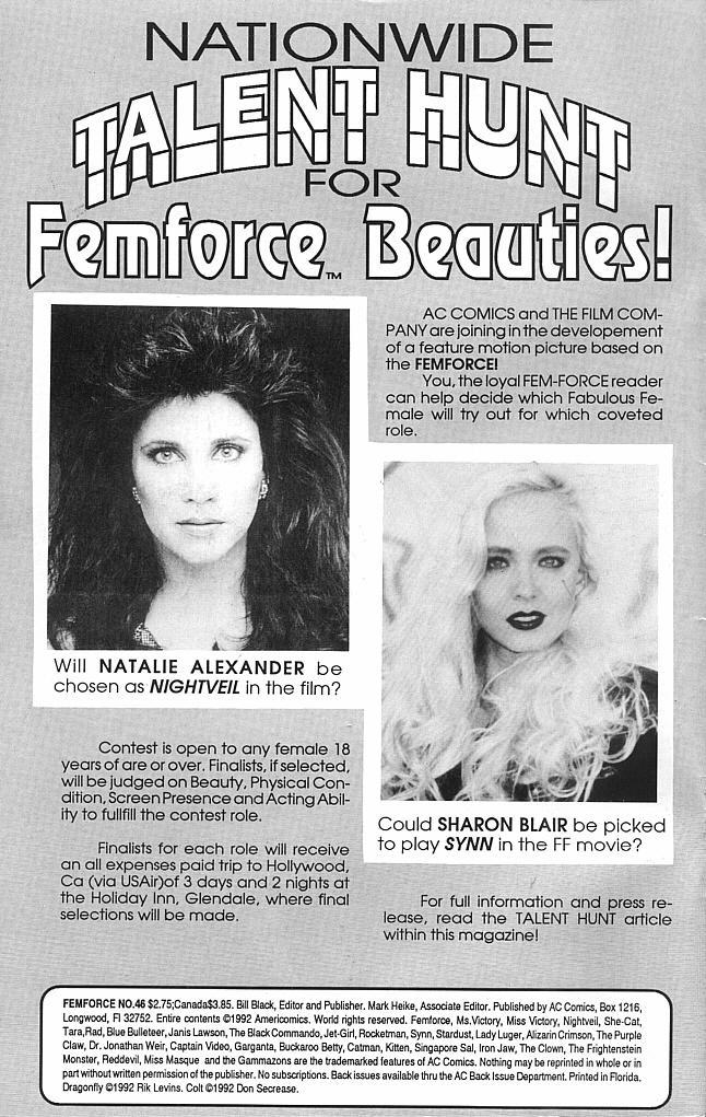 Femforce Issue #46 #46 - English 2