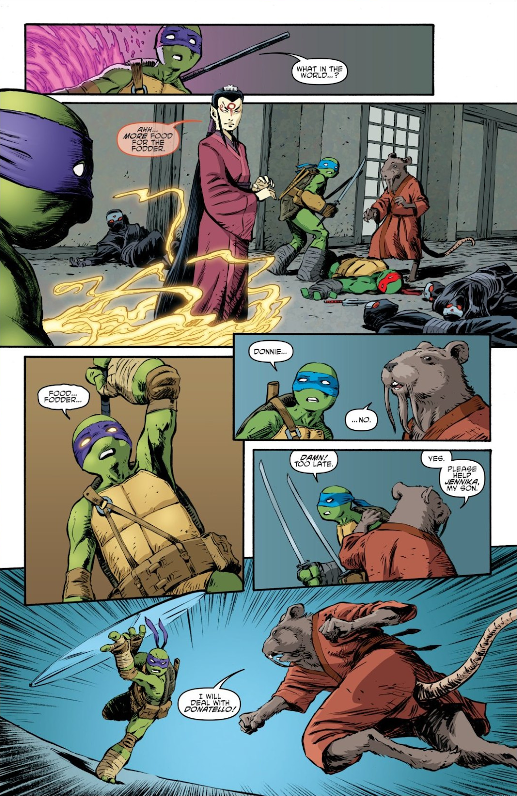 Read online Teenage Mutant Ninja Turtles: The IDW Collection comic -  Issue # TPB 7 (Part 3) - 18