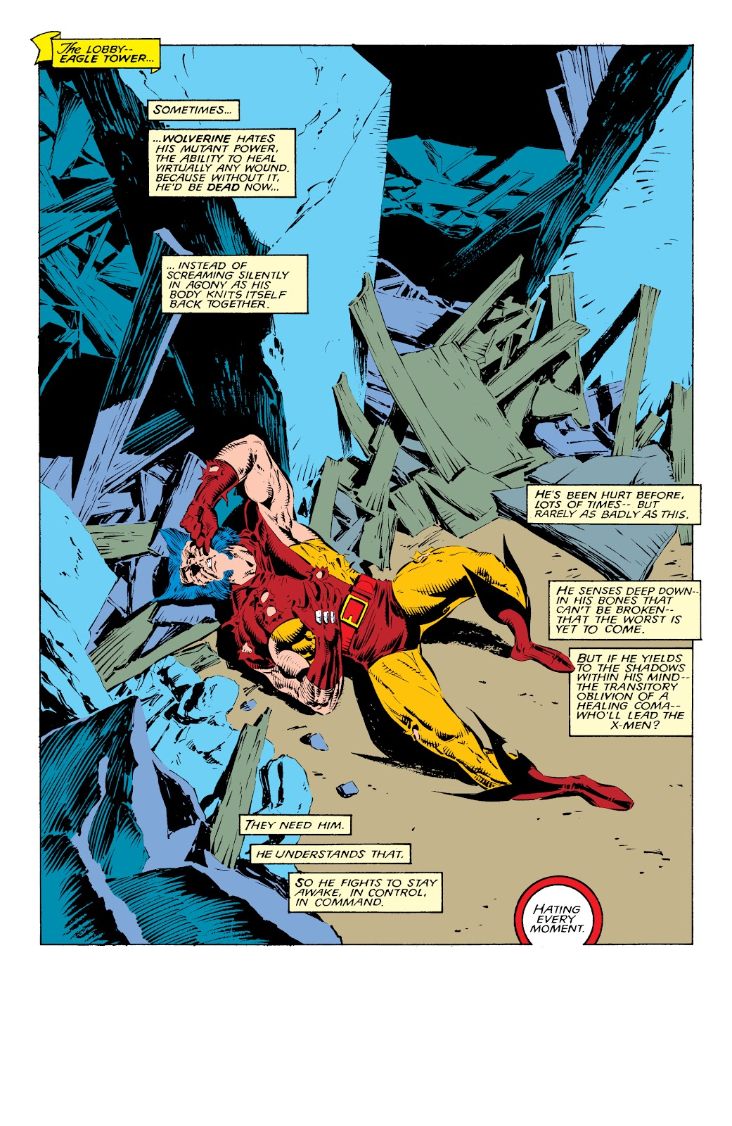 Read online X-Men Milestones: Fall of the Mutants comic -  Issue # TPB (Part 1) - 28