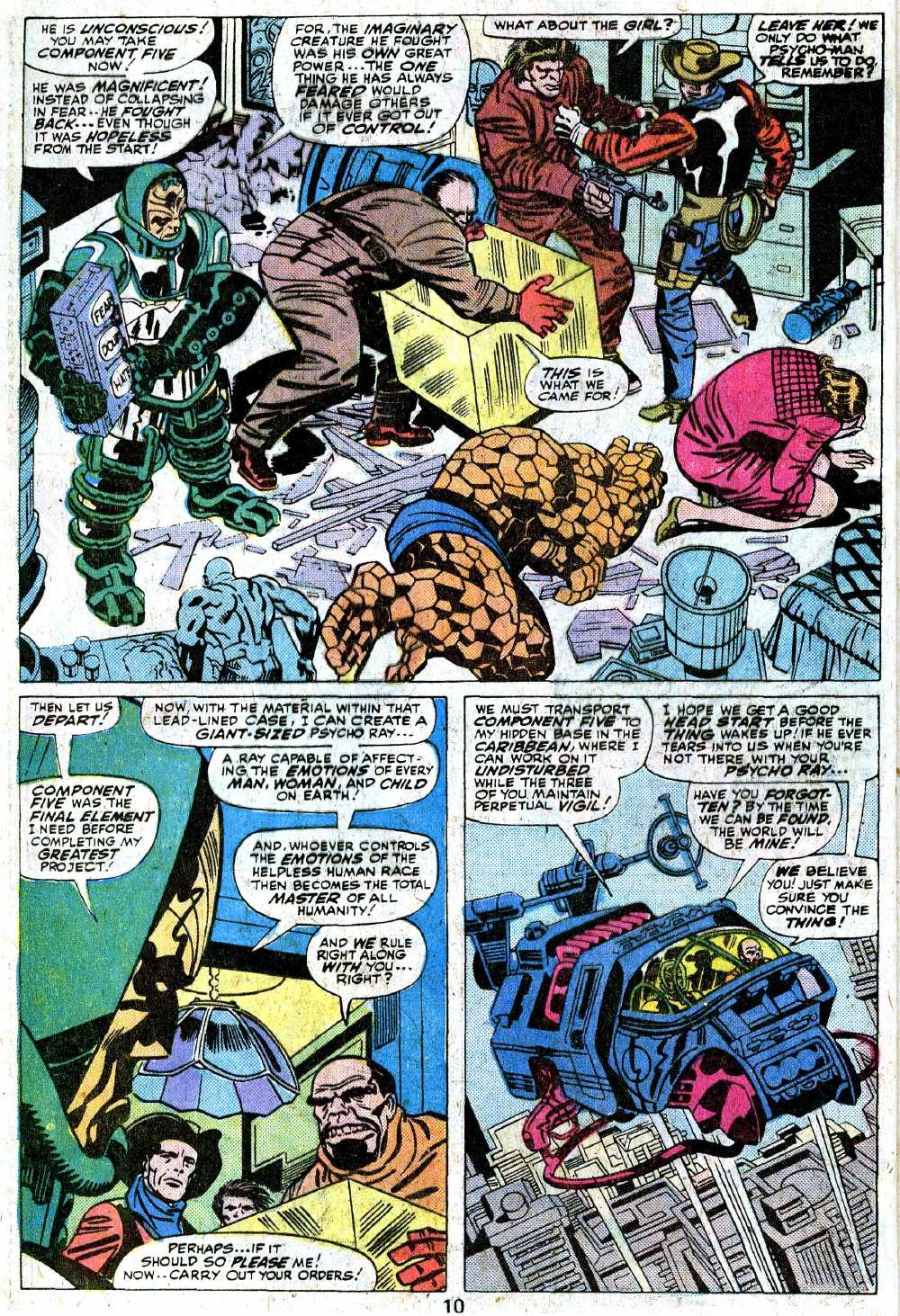 Giant-Size Fantastic Four issue 5 - Page 12