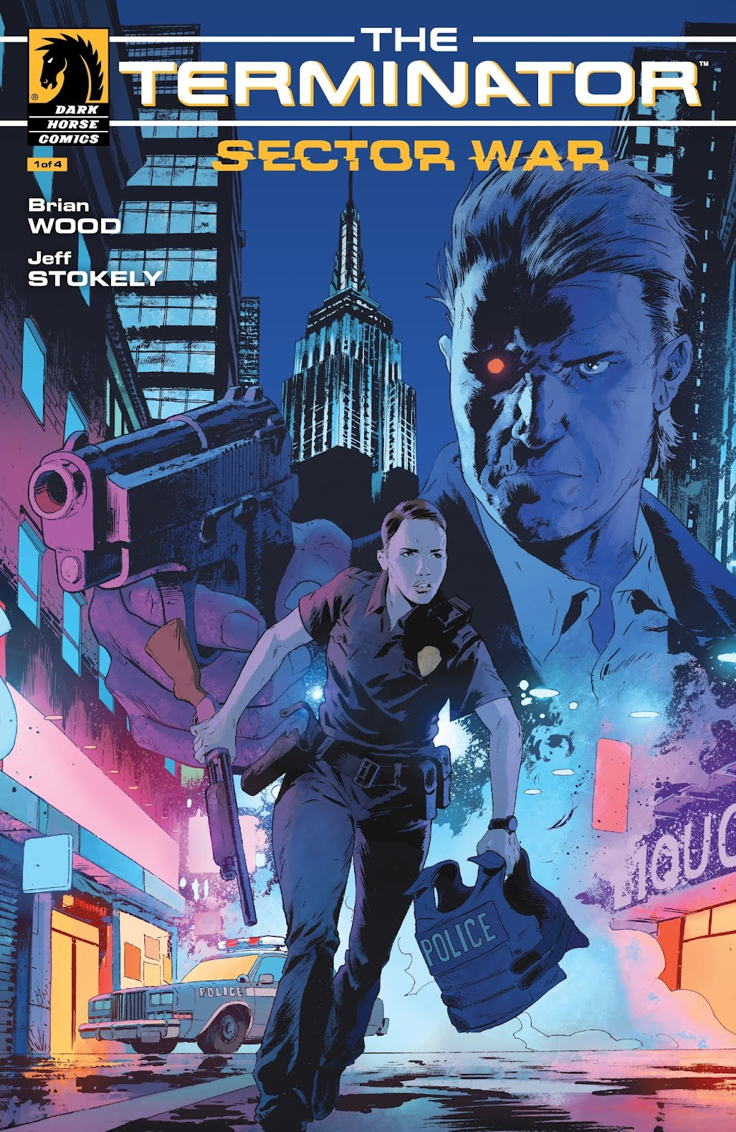 The Terminator: Sector War issue 1 - Page 1