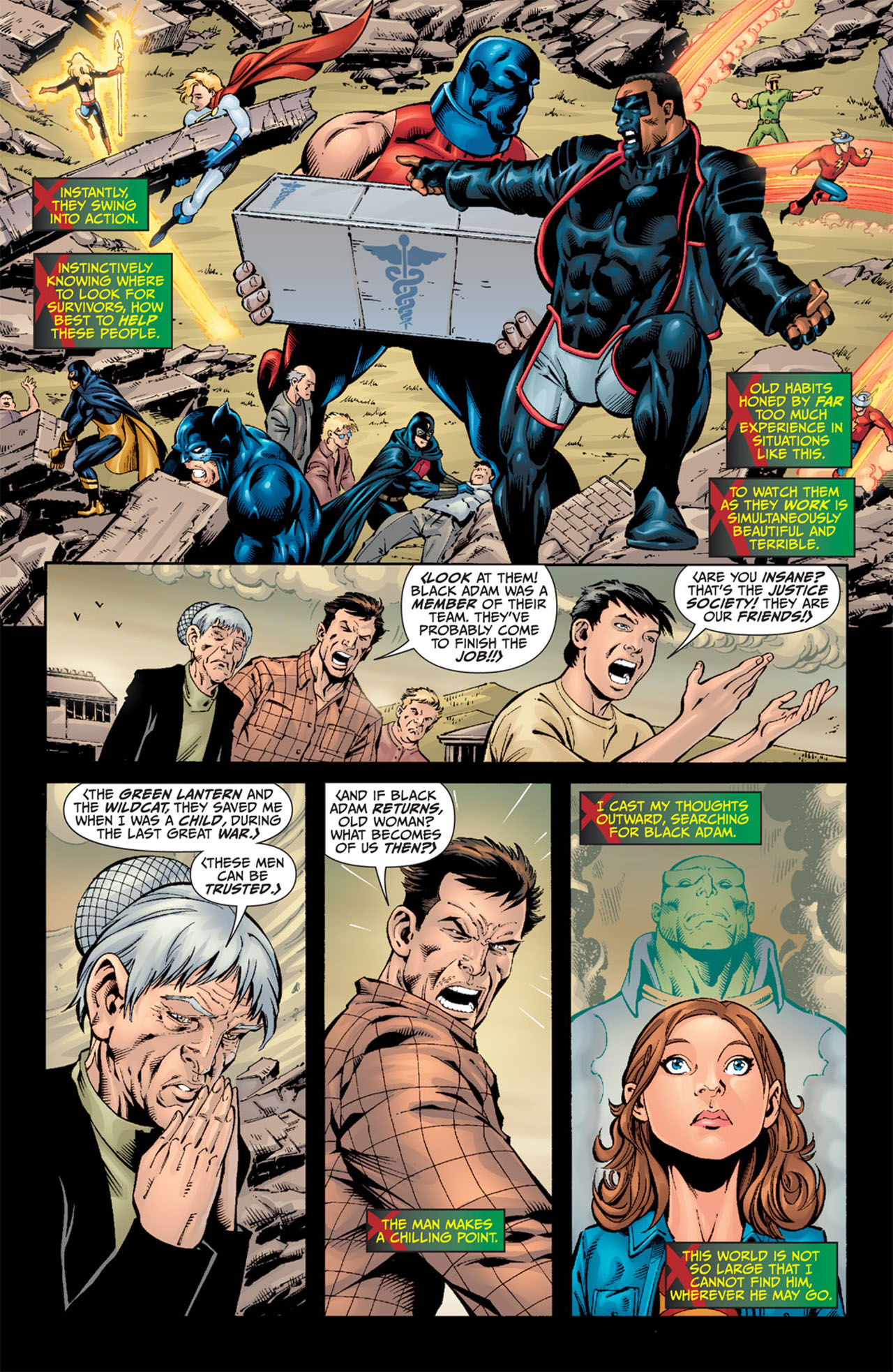 Read online World War III comic -  Issue #3 - 6