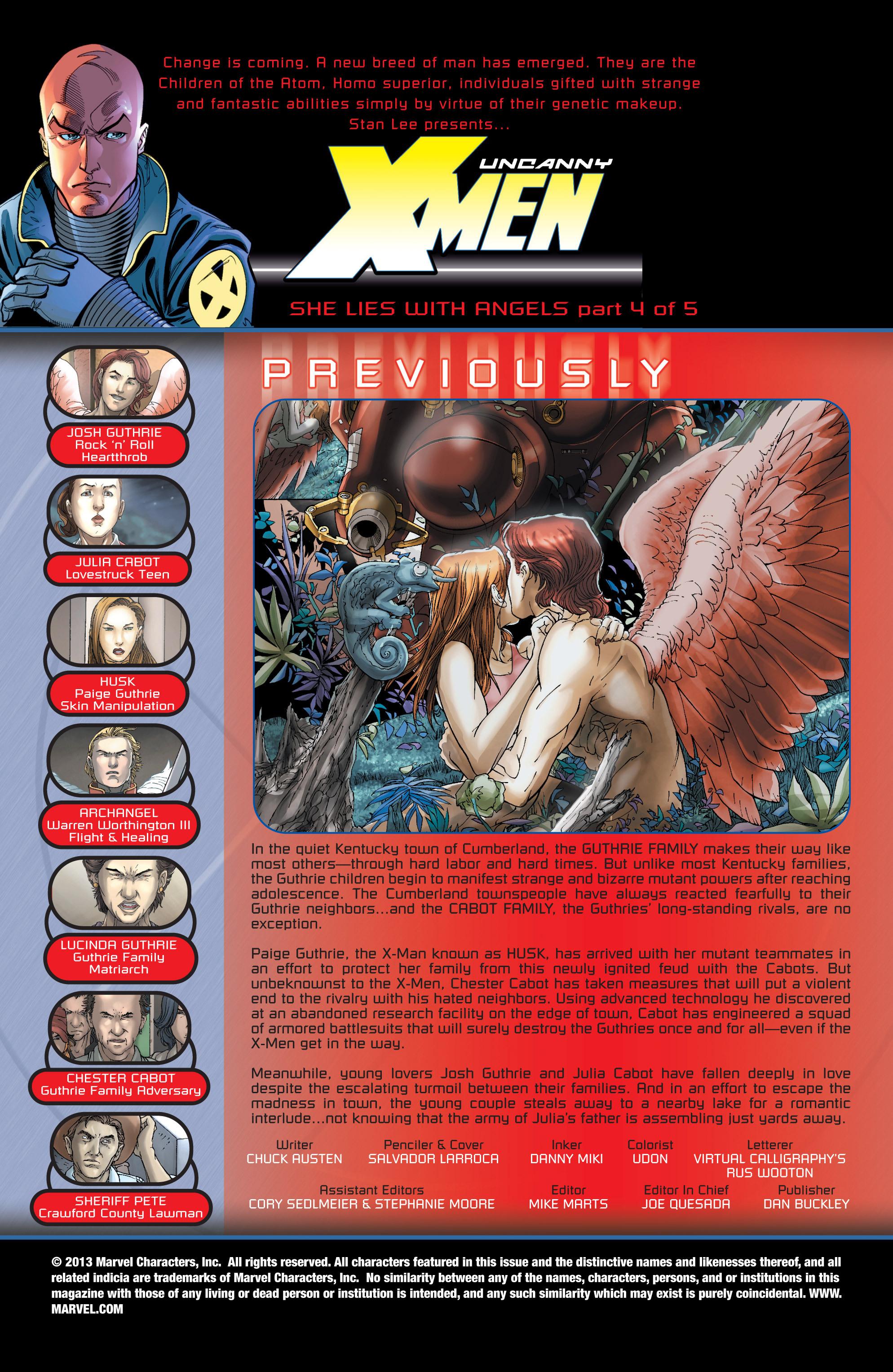 Read online Uncanny X-Men (1963) comic -  Issue #440 - 2