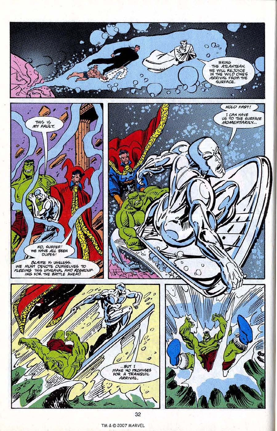 Read online Silver Surfer (1987) comic -  Issue # _Annual 5 - 34