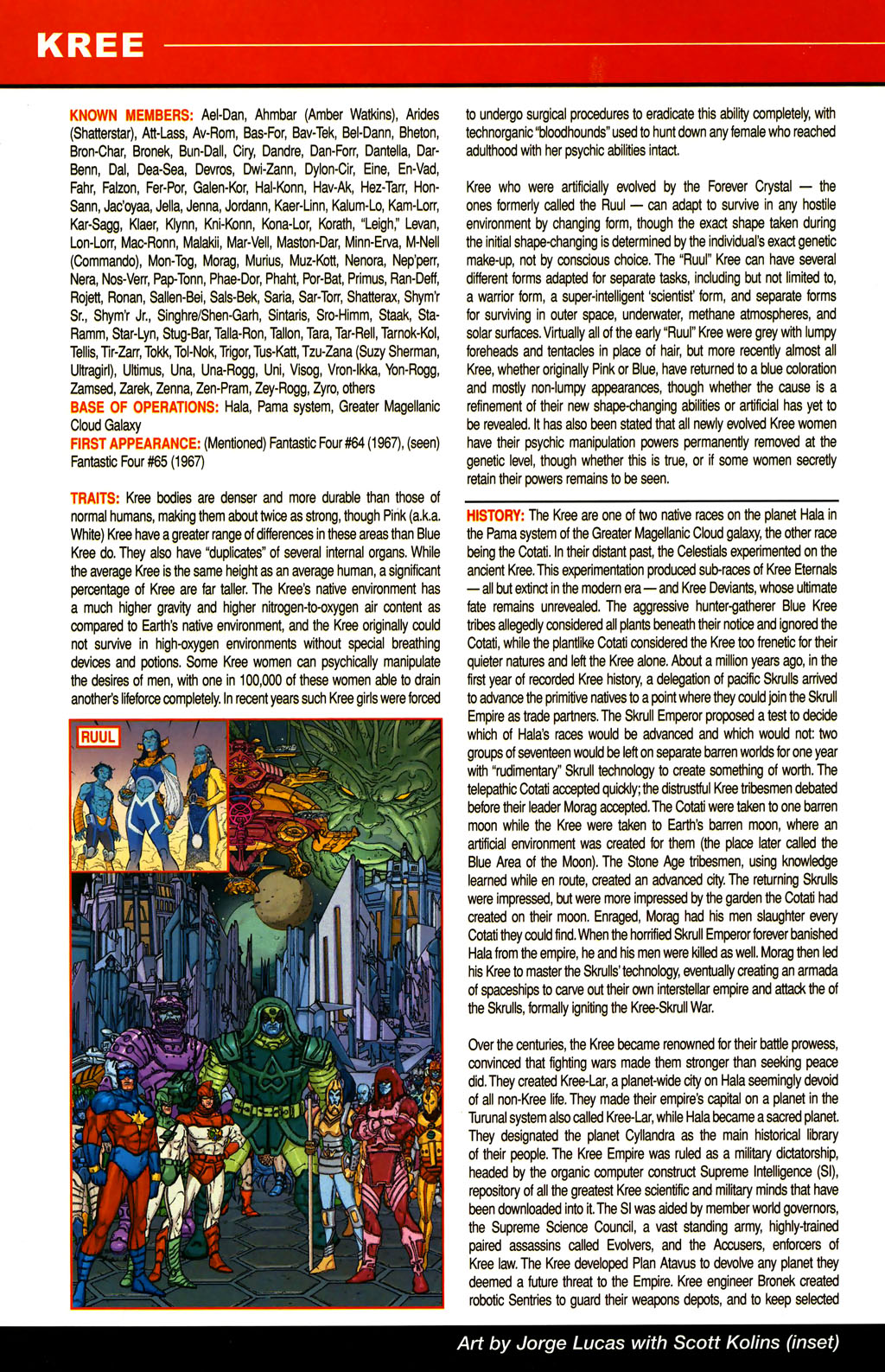 Read online All-New Official Handbook of the Marvel Universe A to Z comic -  Issue #6 - 22