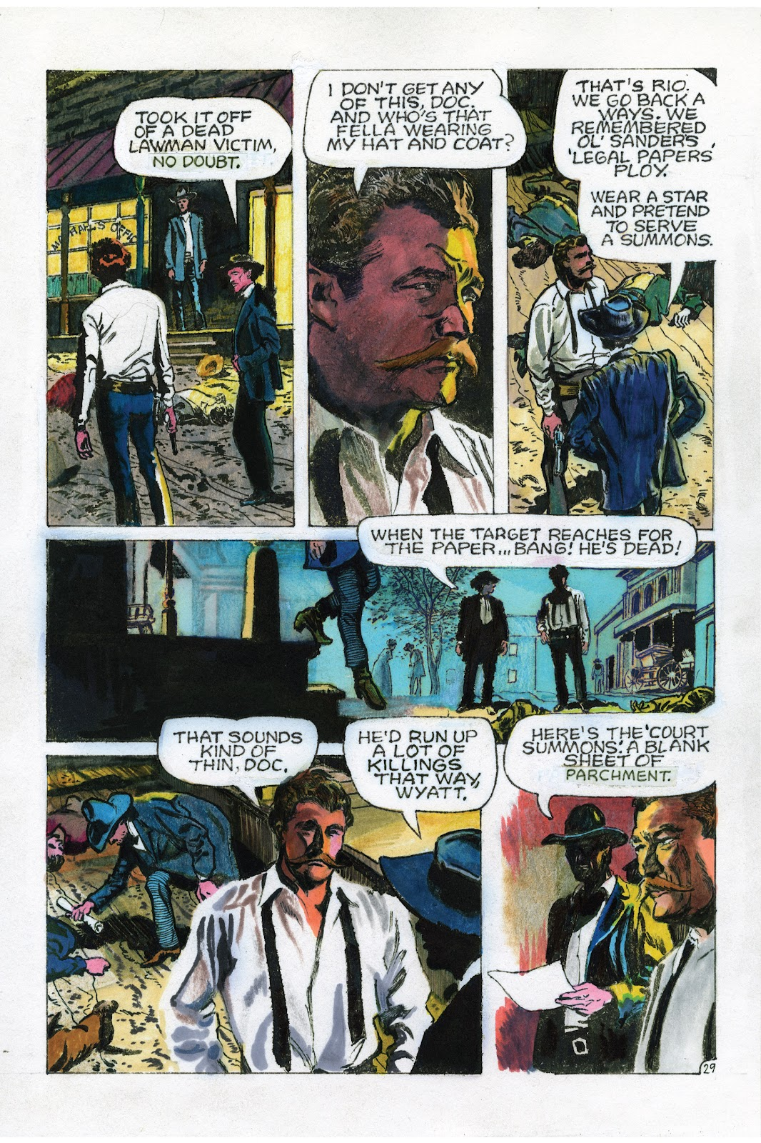 Read online Doug Wildey's Rio: The Complete Saga comic -  Issue # TPB (Part 3) - 17