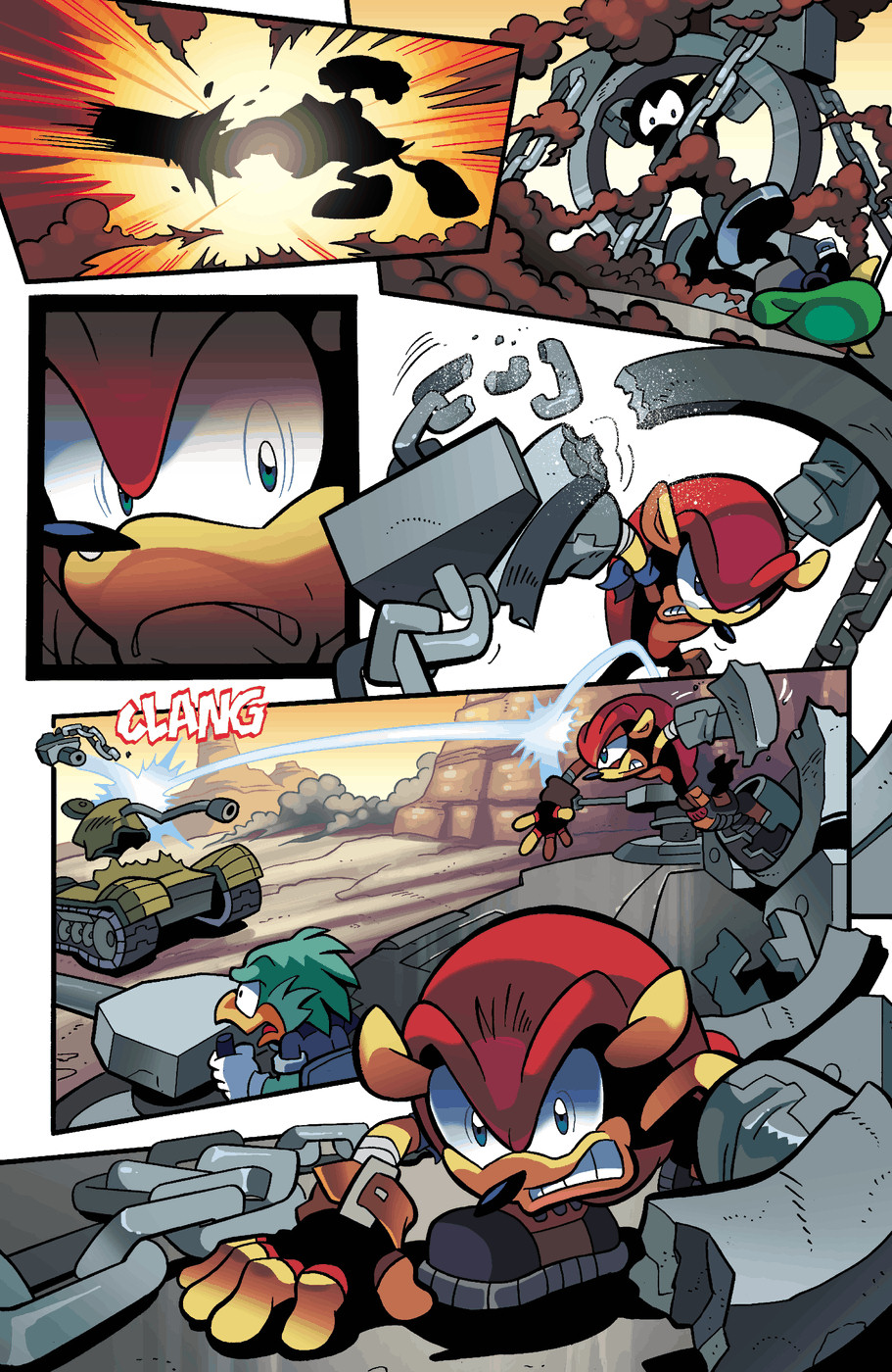Read online Sonic Universe comic -  Issue #49 - 16