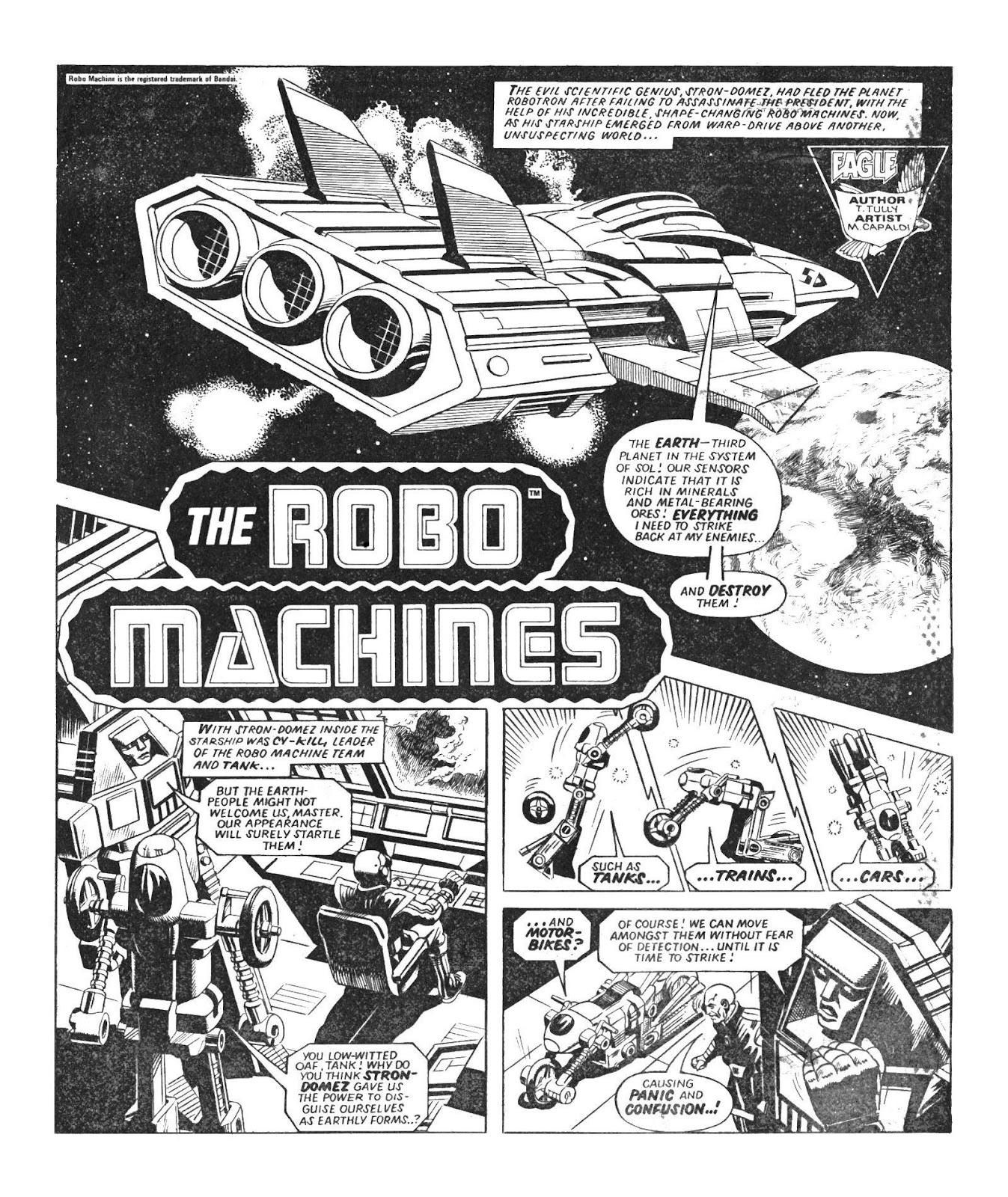 Read online Robo Machines comic -  Issue # TPB - 12