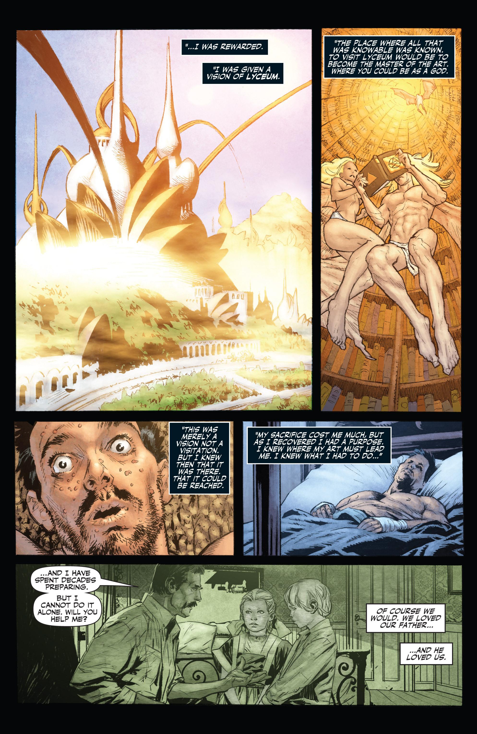 Read online Shadowman (2012) comic -  Issue #0 - 14