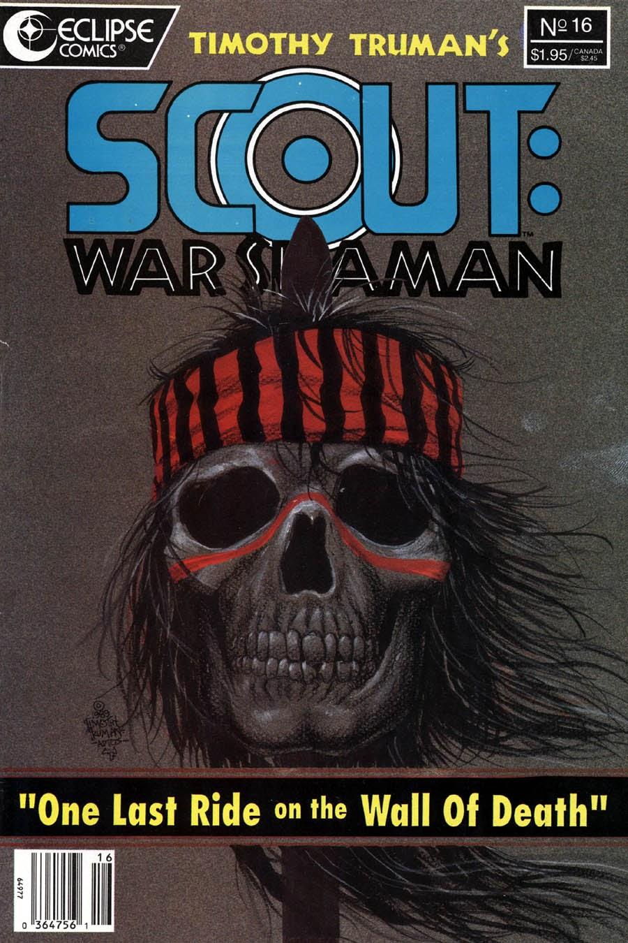 Scout: War Shaman 16 Page 1