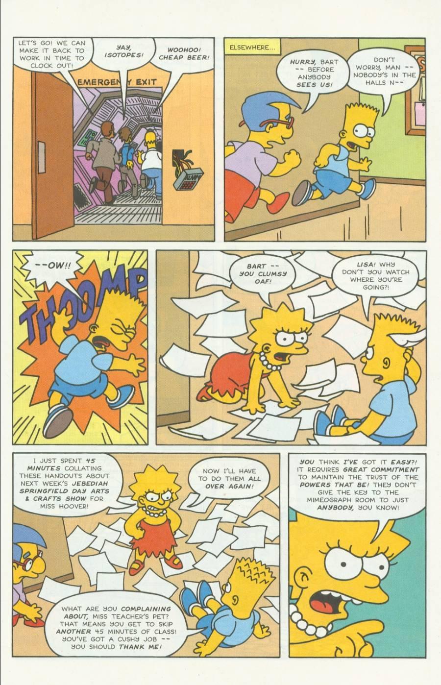 Read online Simpsons Comics comic -  Issue #4 - 6