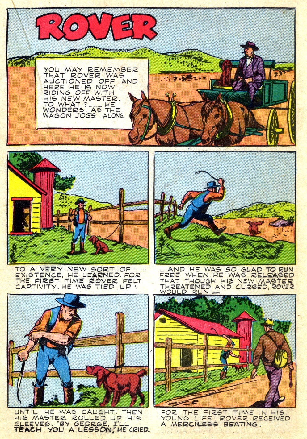 Read online Animal Comics comic -  Issue #22 - 23
