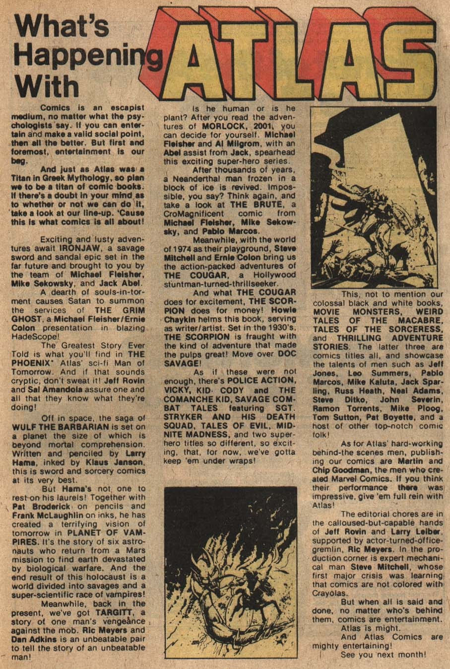 The Grim Ghost (1975) issue 1 - Page 23