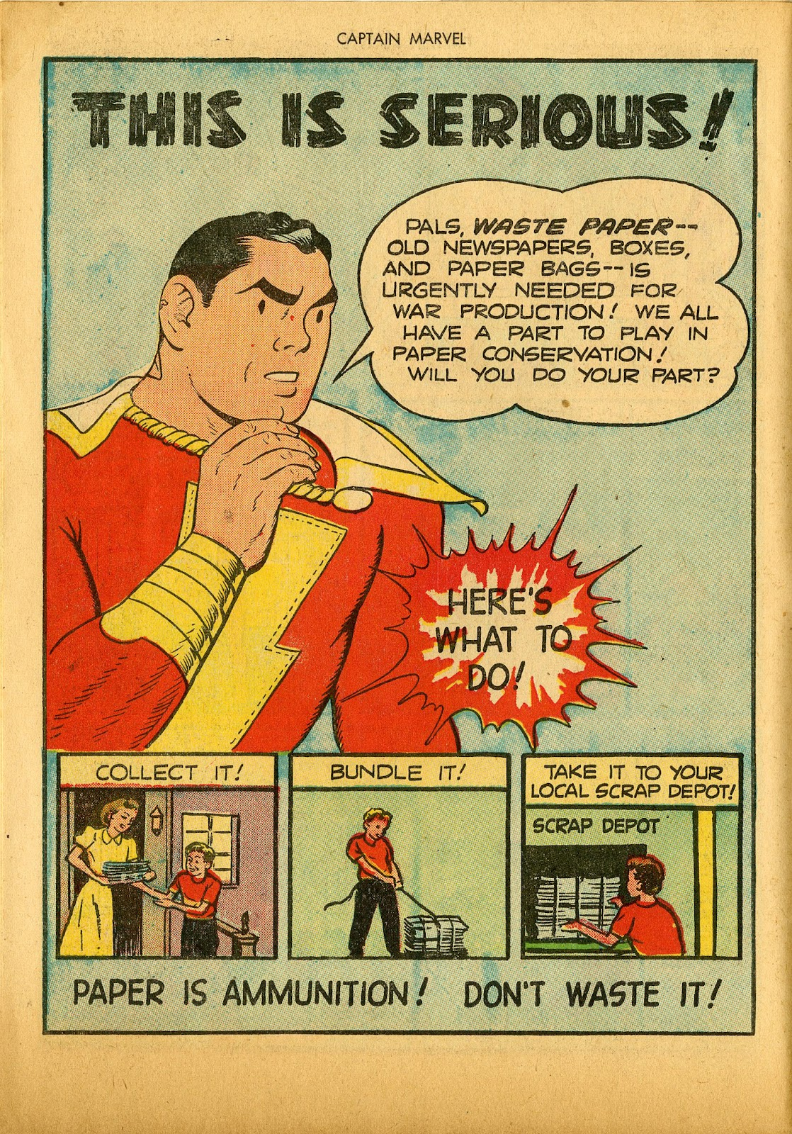 Captain Marvel Adventures issue 36 - Page 14