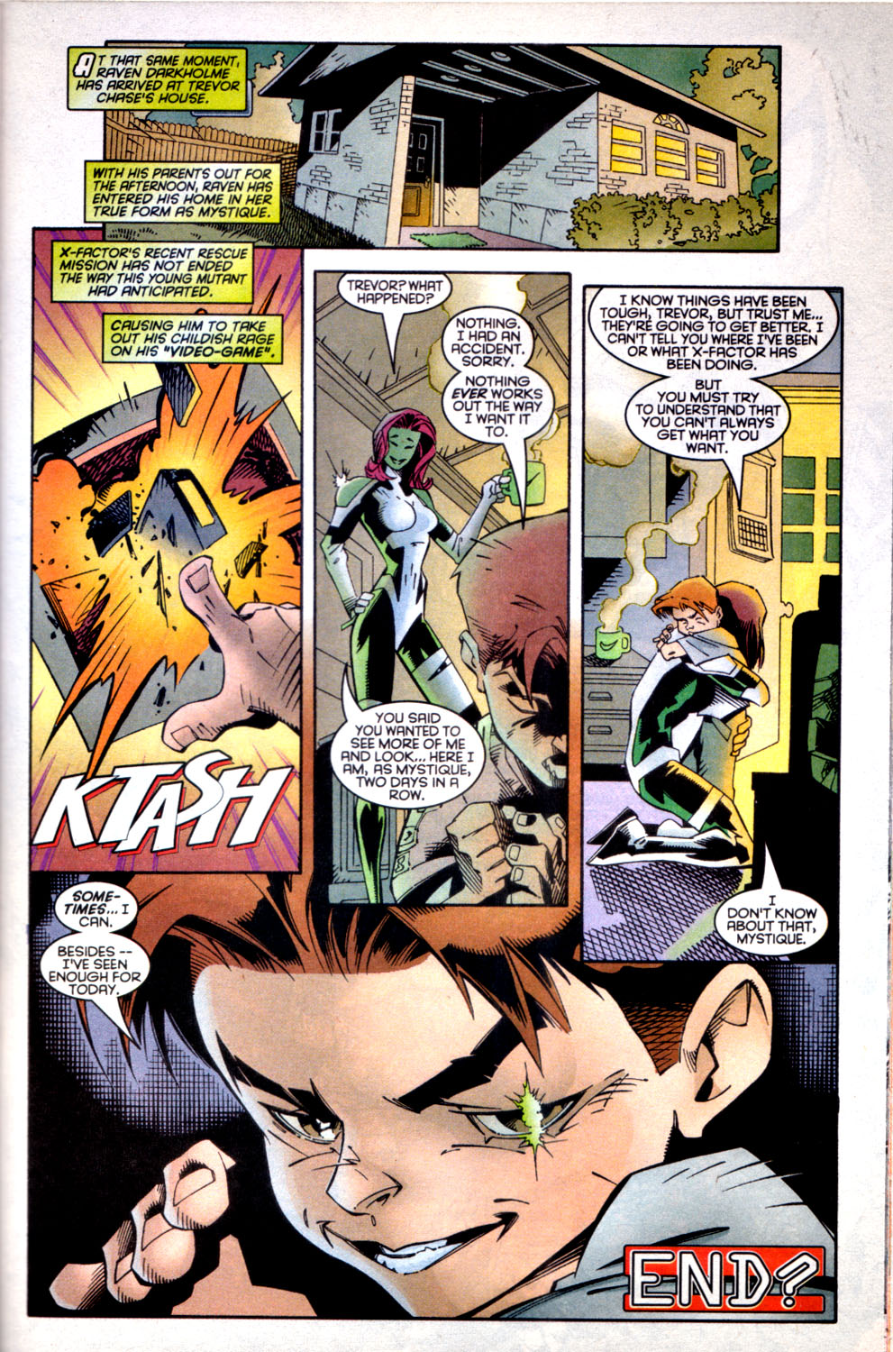Read online X-Factor (1986) comic -  Issue #135 - 22