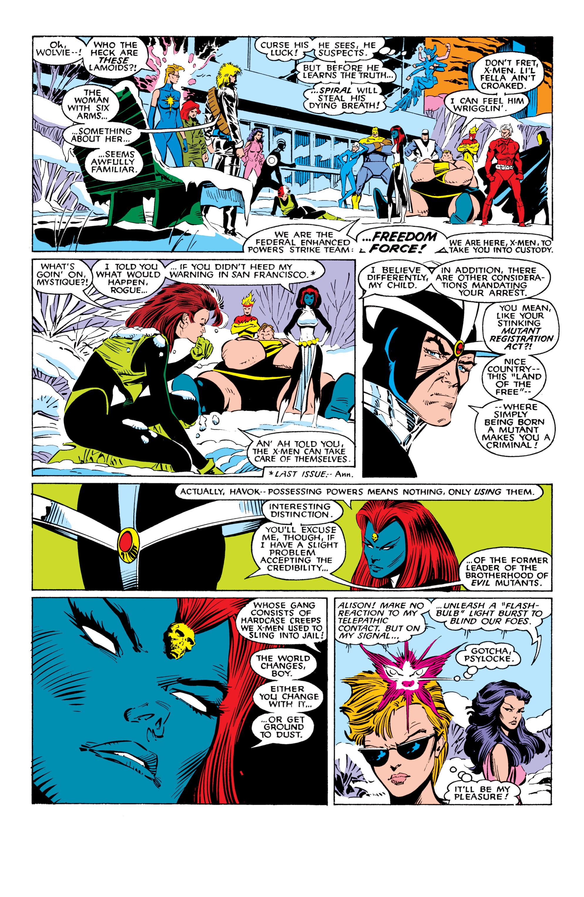 Read online Uncanny X-Men (1963) comic -  Issue #225 - 18