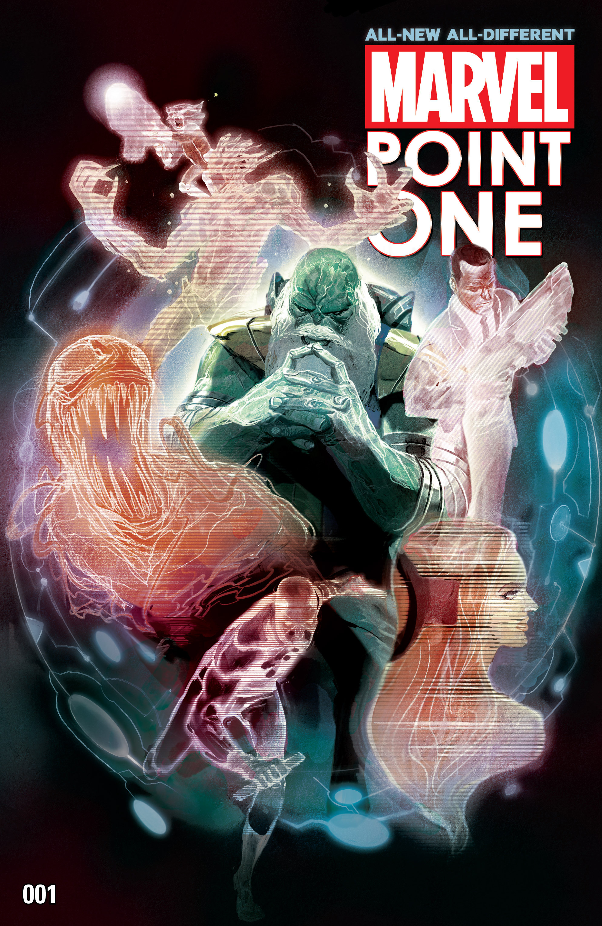 Read online All-New, All-Different Point One comic -  Issue # Full - 1