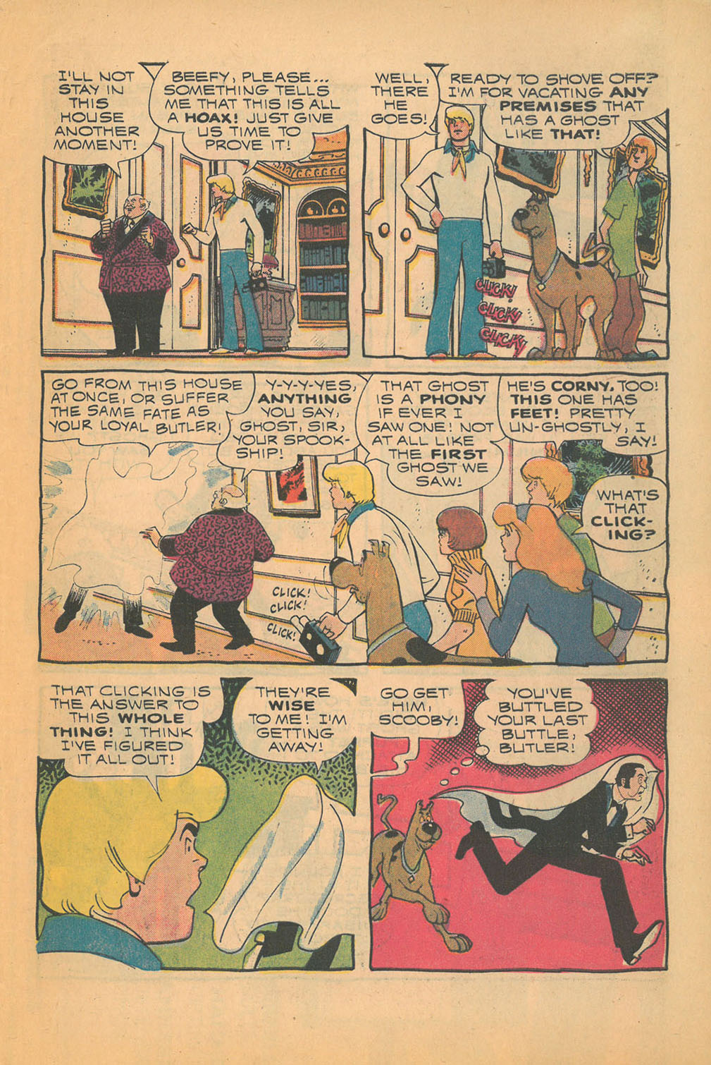 Read online Scooby-Doo... Mystery Comics comic -  Issue #21 - 31