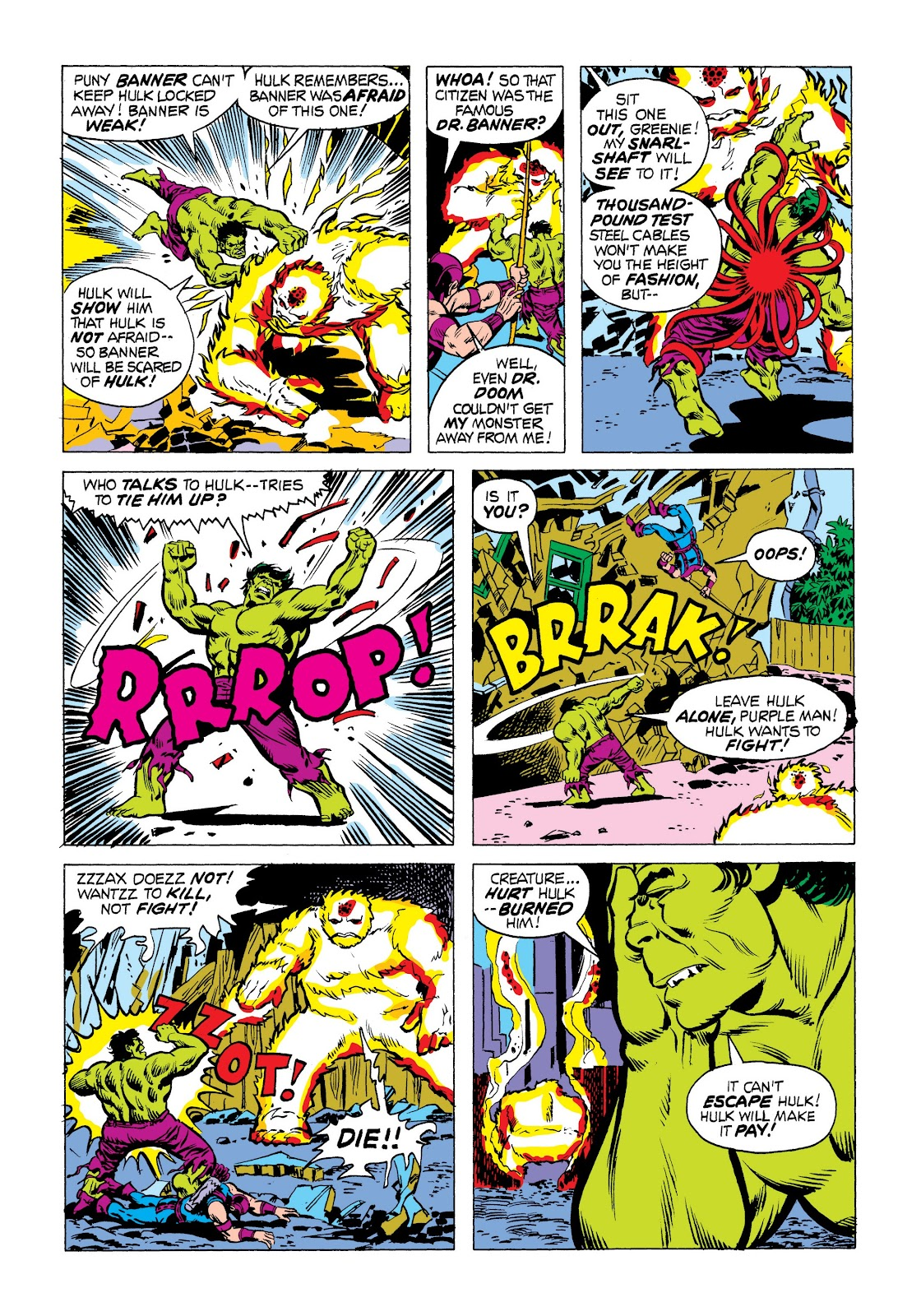 Read online Marvel Masterworks: The Incredible Hulk comic -  Issue # TPB 9 (Part 3) - 8