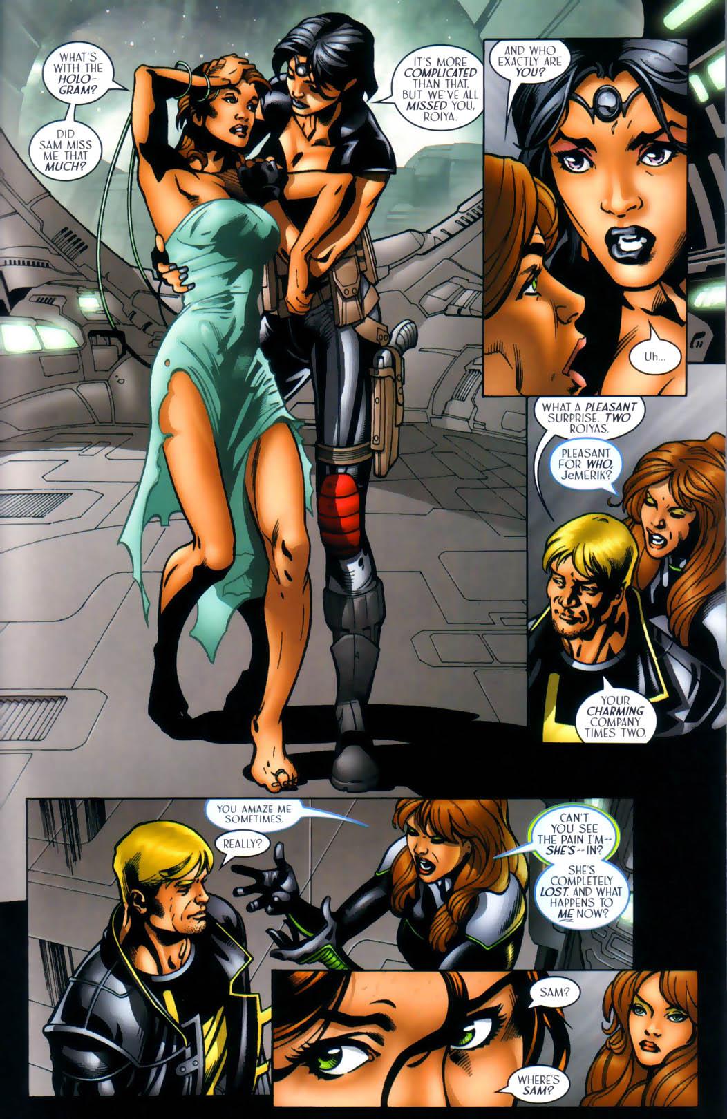 Read online Sigil (2000) comic -  Issue #30 - 8