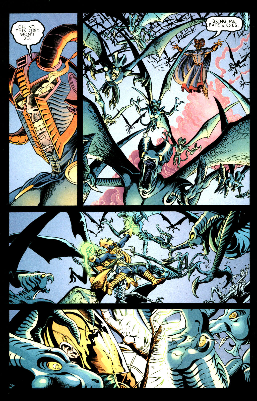 Read online Doctor Fate (2003) comic -  Issue #3 - 16
