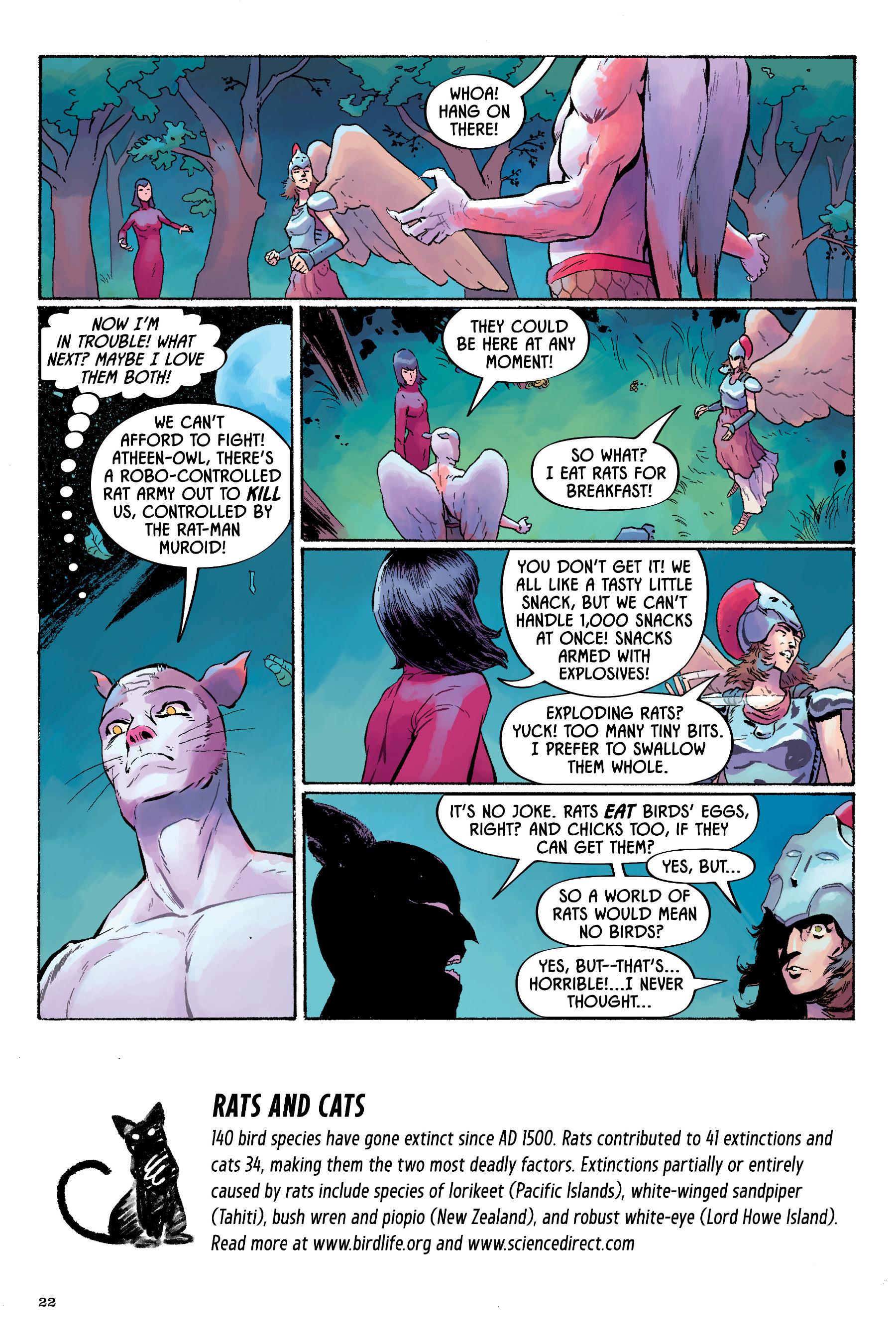 Read online Angel Catbird comic -  Issue # TPB 2 - 23