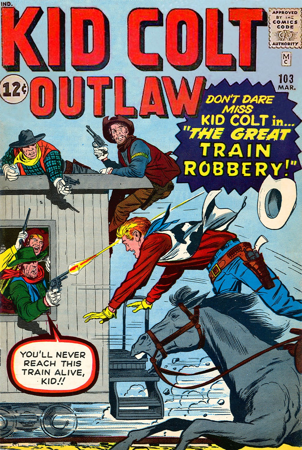 Kid Colt Outlaw issue 103 - Page 1