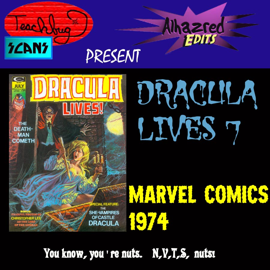 Dracula Lives issue 7 - Page 1