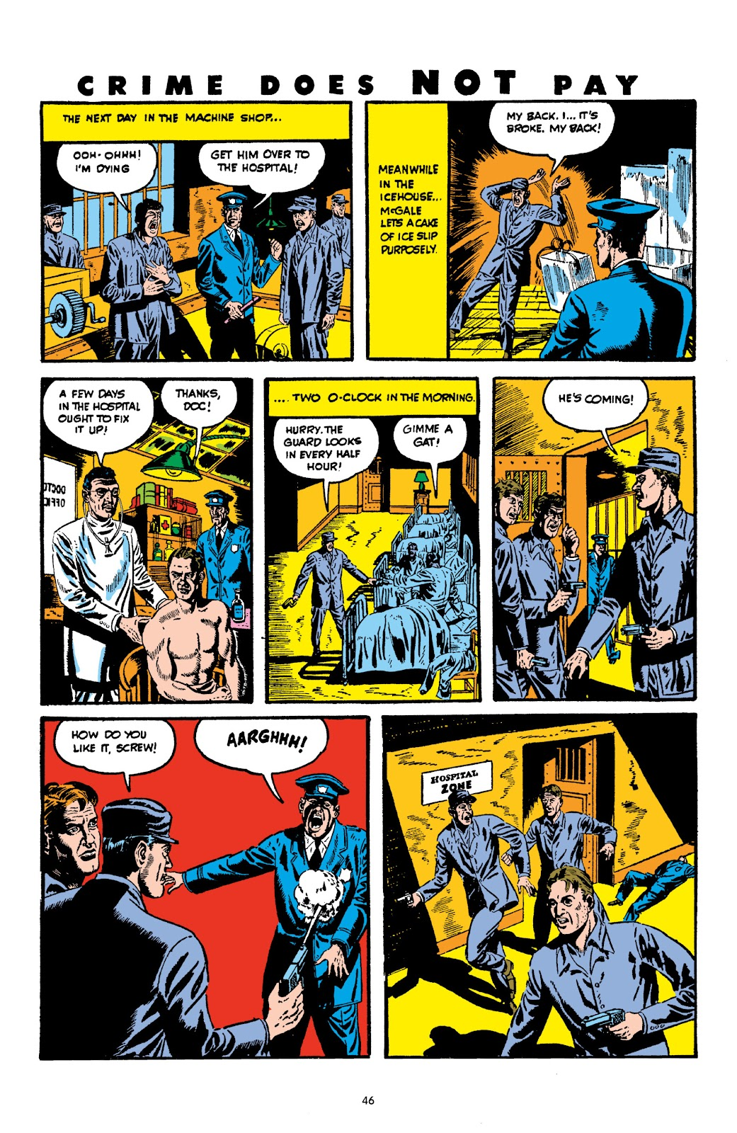 Read online Crime Does Not Pay Archives comic -  Issue # TPB 3 (Part 1) - 46