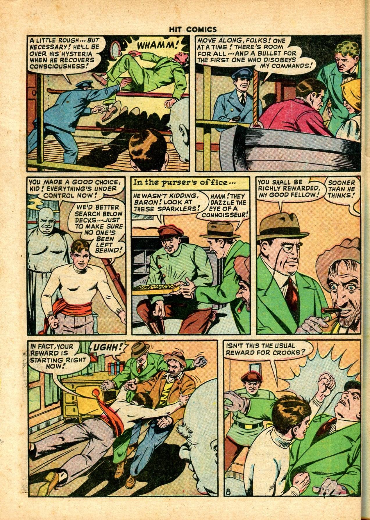 Read online Hit Comics comic -  Issue #59 - 10