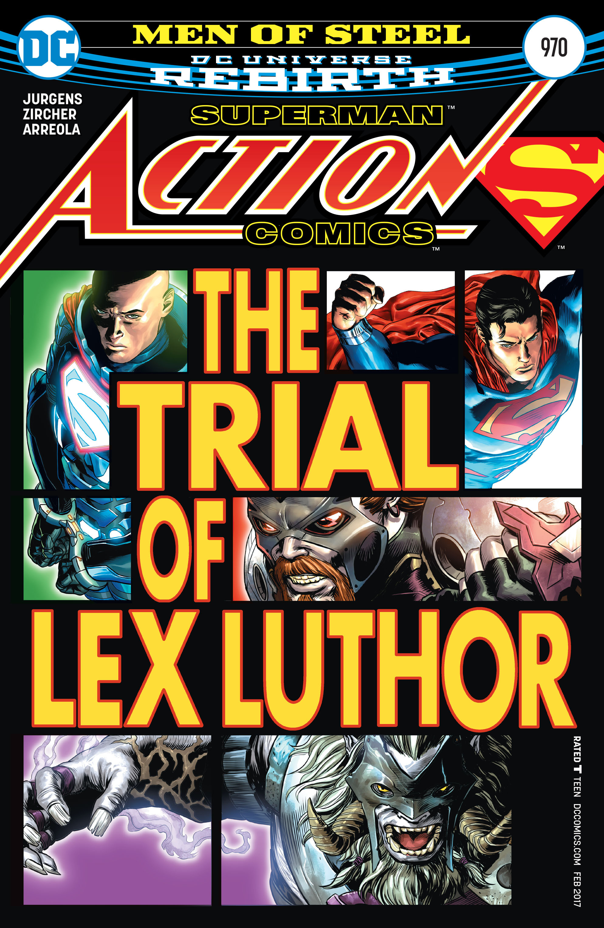 Action Comics (2016) 970 Page 1