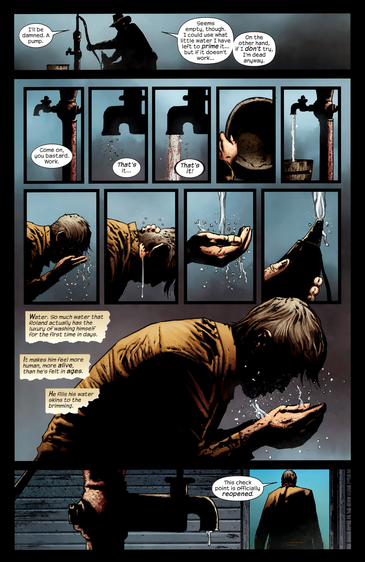 Read online Dark Tower: The Gunslinger - The Way Station comic -  Issue #1 - 11