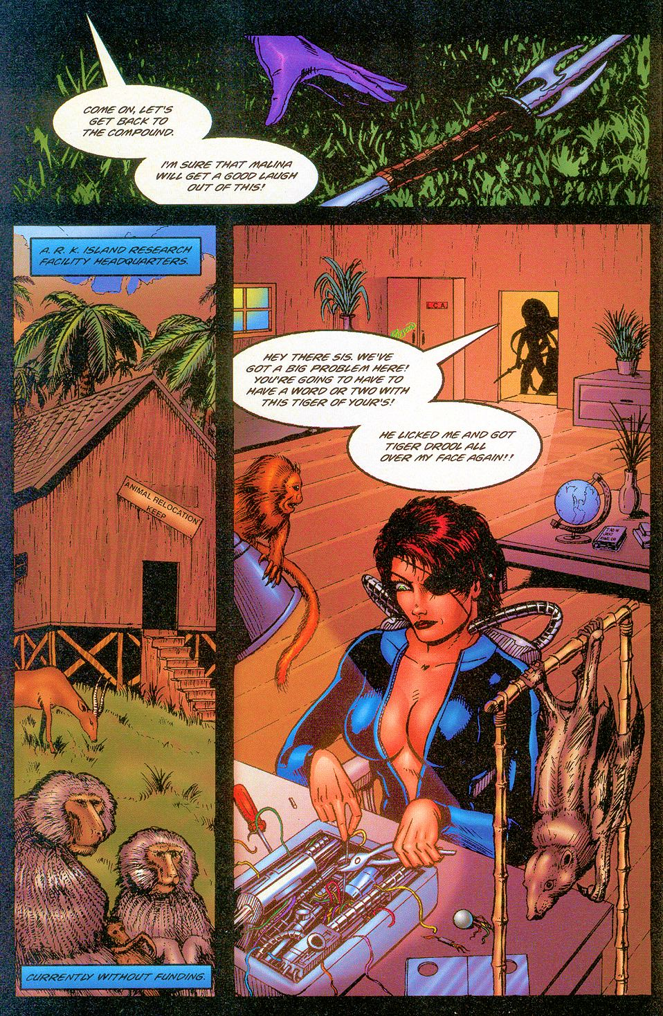 Read online Sisters of Mercy comic -  Issue #2 - 8