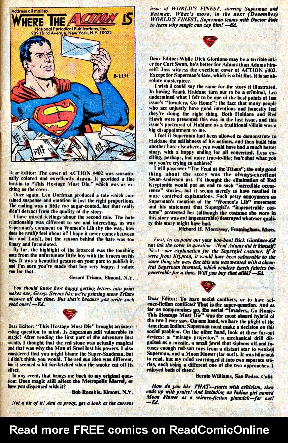 Read online Action Comics (1938) comic -  Issue #406 - 49