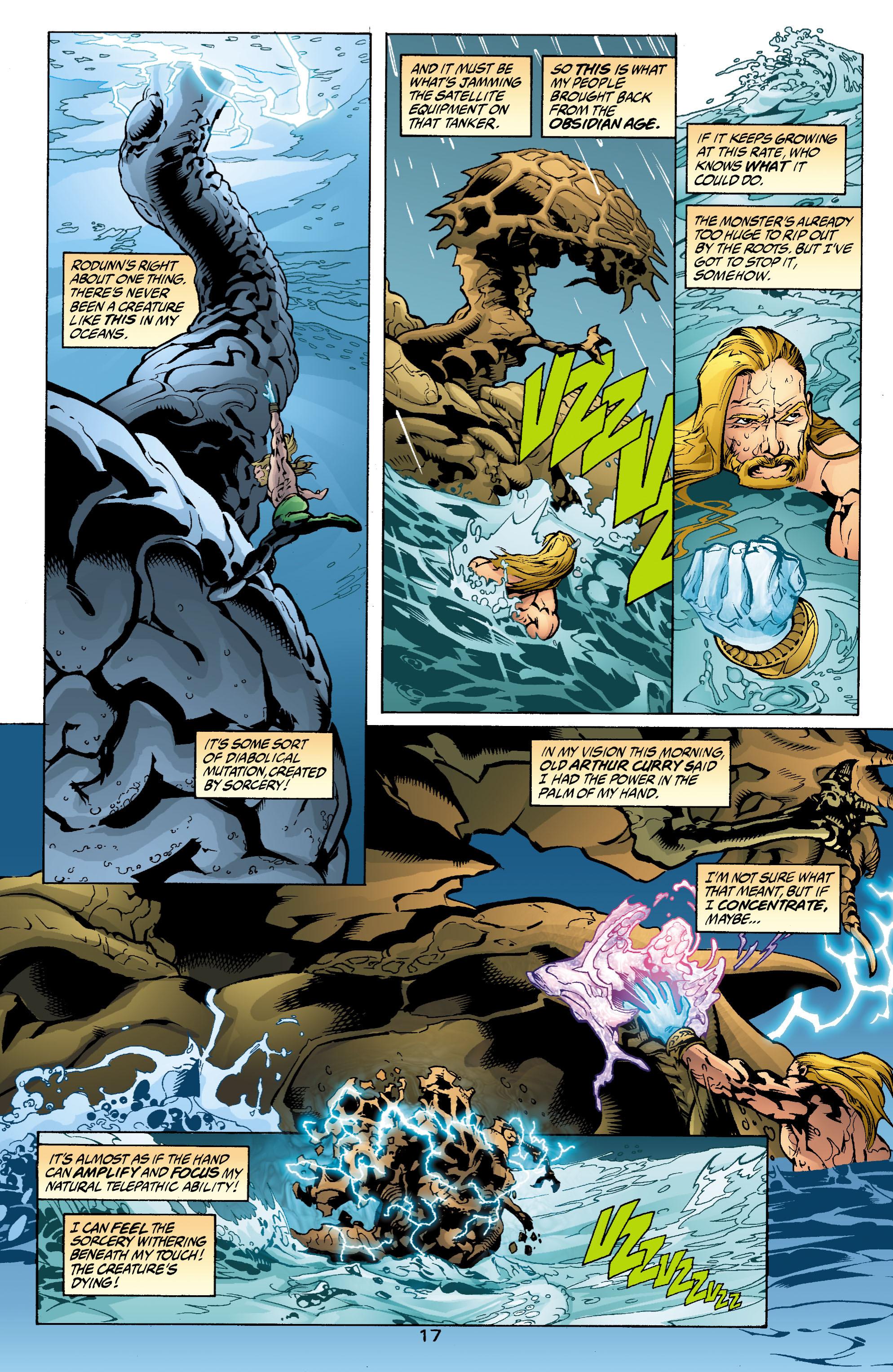 Read online Aquaman (2003) comic -  Issue #2 - 18