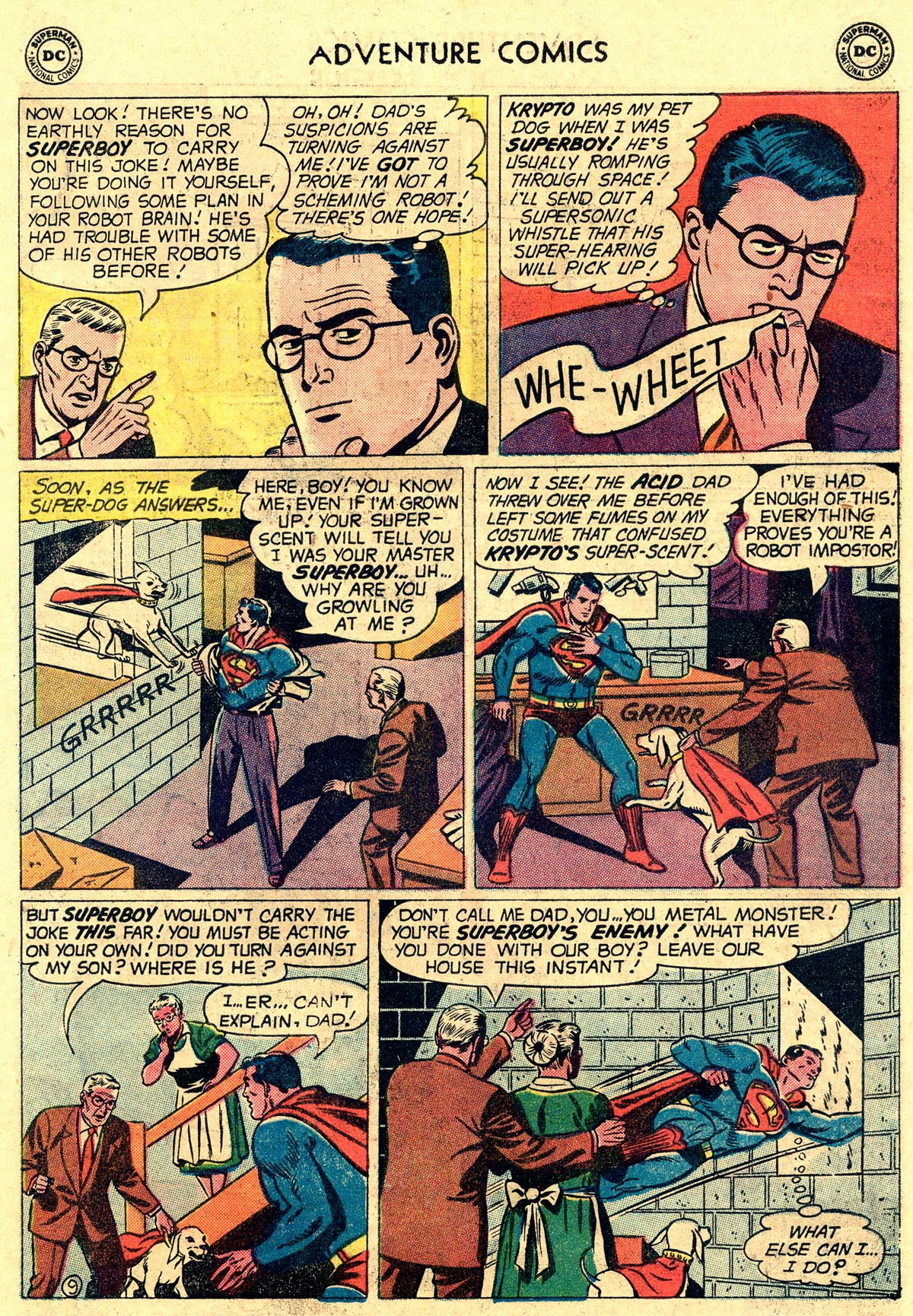 Read online Adventure Comics (1938) comic -  Issue #265 - 11