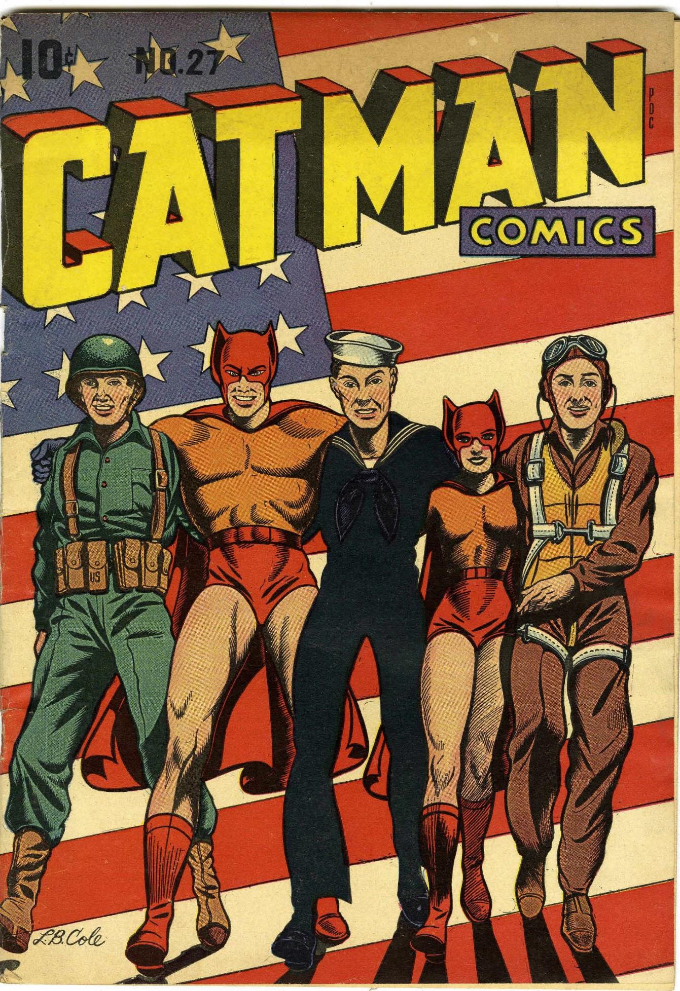 Cat-Man Comics 27 Page 1