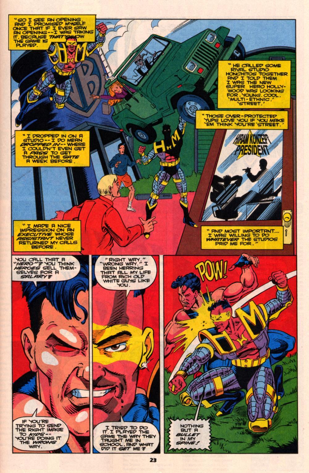Read online Wonder Man (1991) comic -  Issue # _Annual 2 - 22