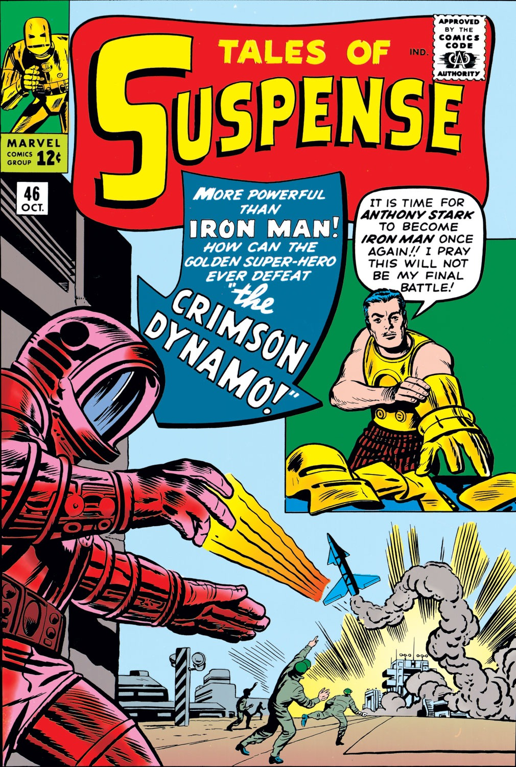 Tales of Suspense (1959) issue 46 - Page 1