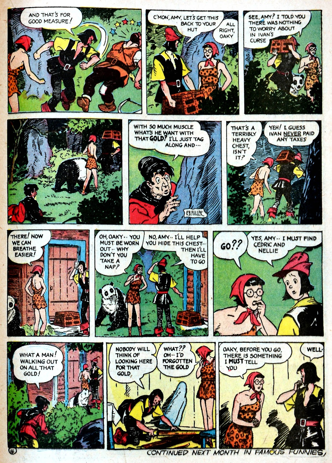 Read online Famous Funnies comic -  Issue #87 - 40
