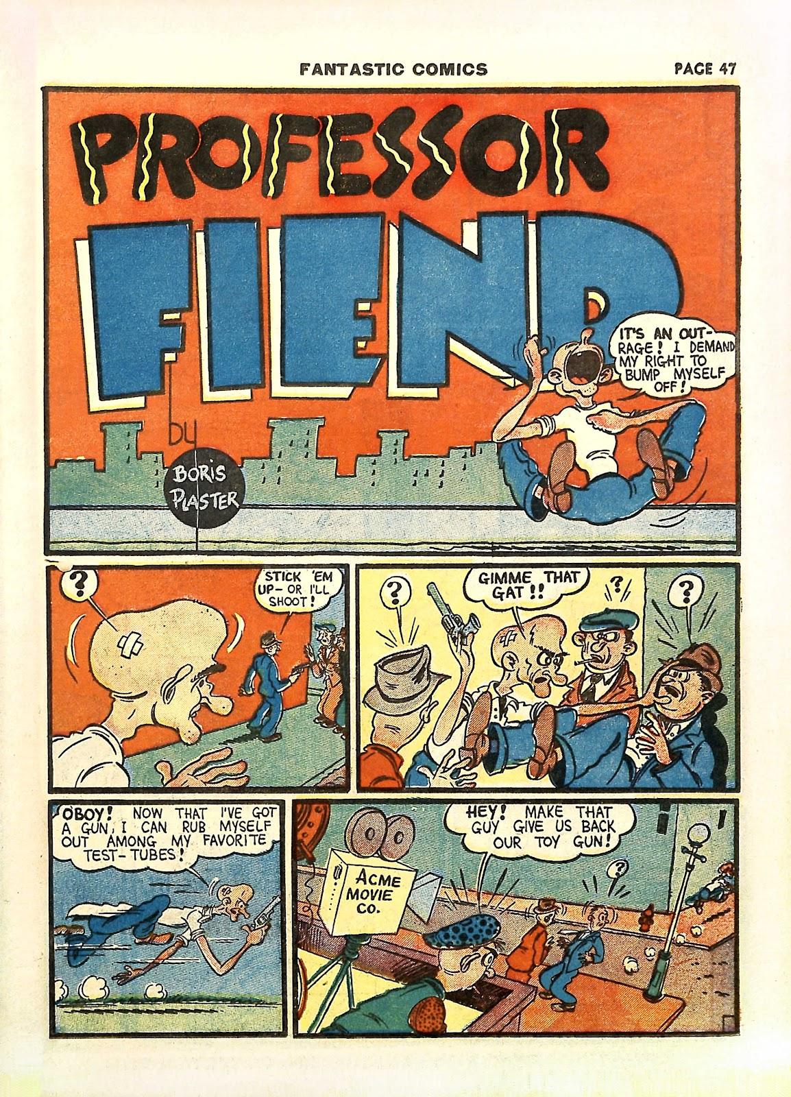 Read online Fantastic Comics comic -  Issue #11 - 50