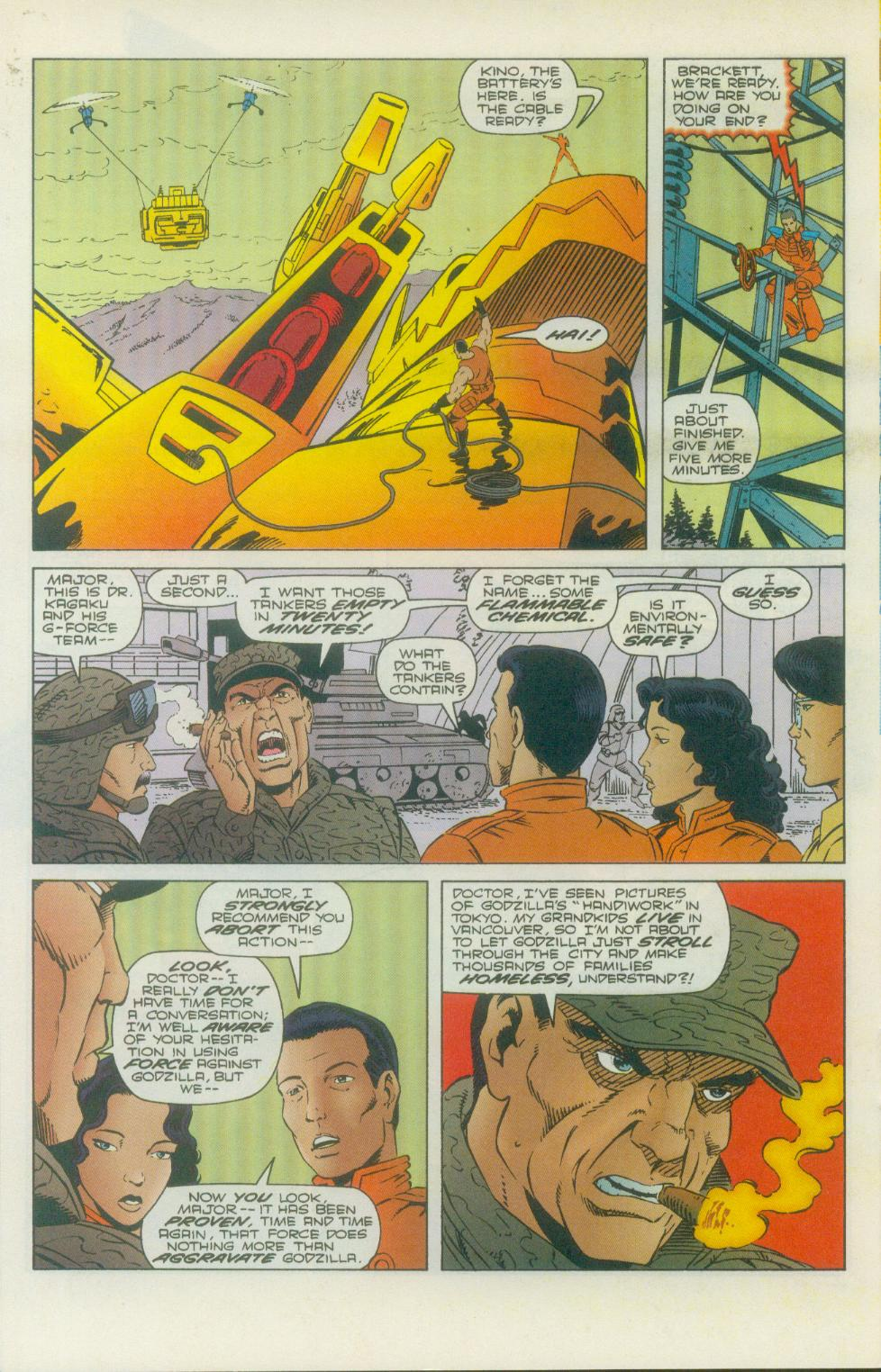 Godzilla (1995) Issue #2 #3 - English 17