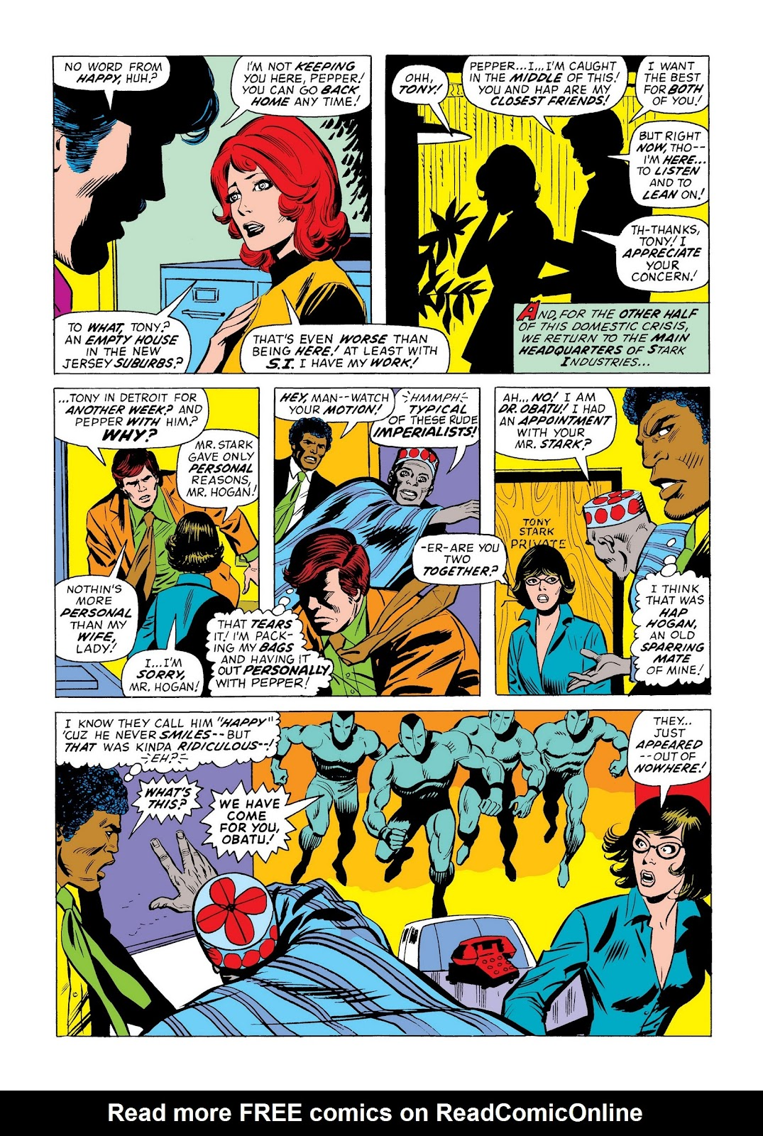 Read online Marvel Masterworks: The Invincible Iron Man comic -  Issue # TPB 9 (Part 3) - 1