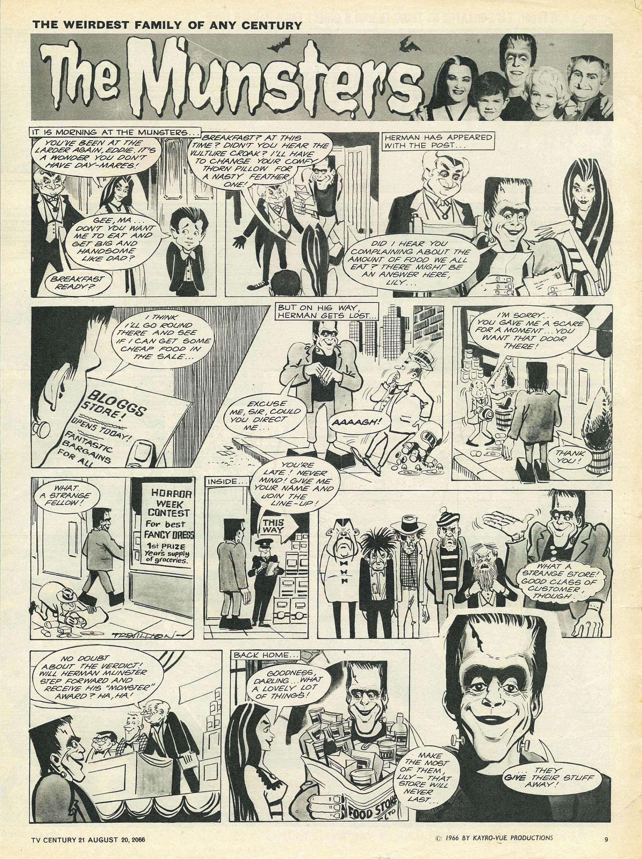 Read online TV Century 21 (TV 21) comic -  Issue #83 - 9