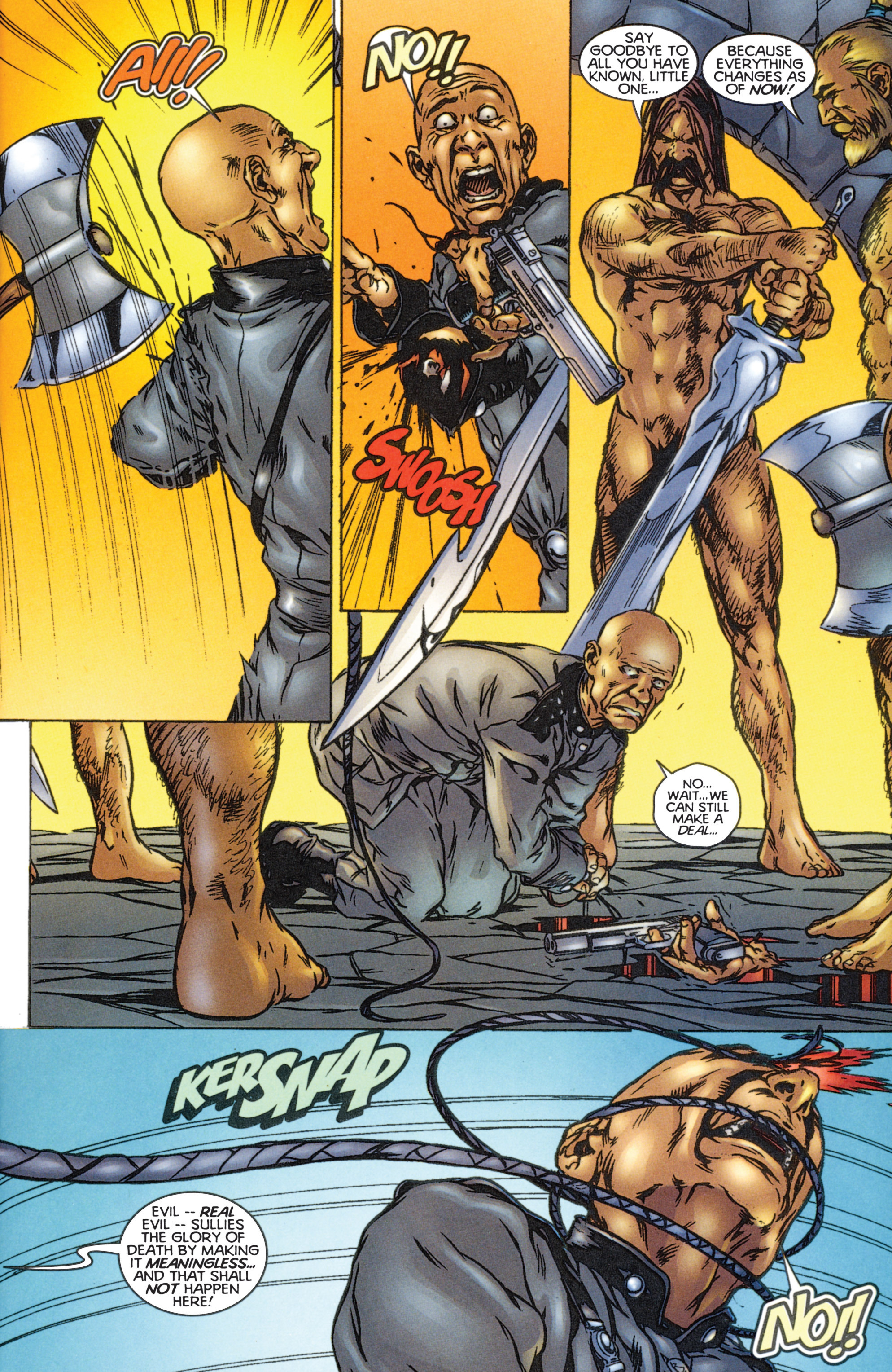 Read online Eternal Warriors comic -  Issue # Issue The Immortal Enemy - 30