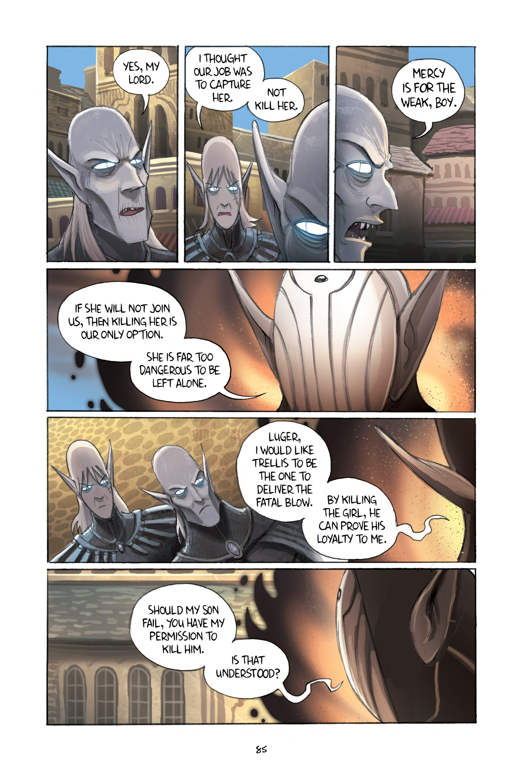 Read online Amulet comic -  Issue #2 - 86
