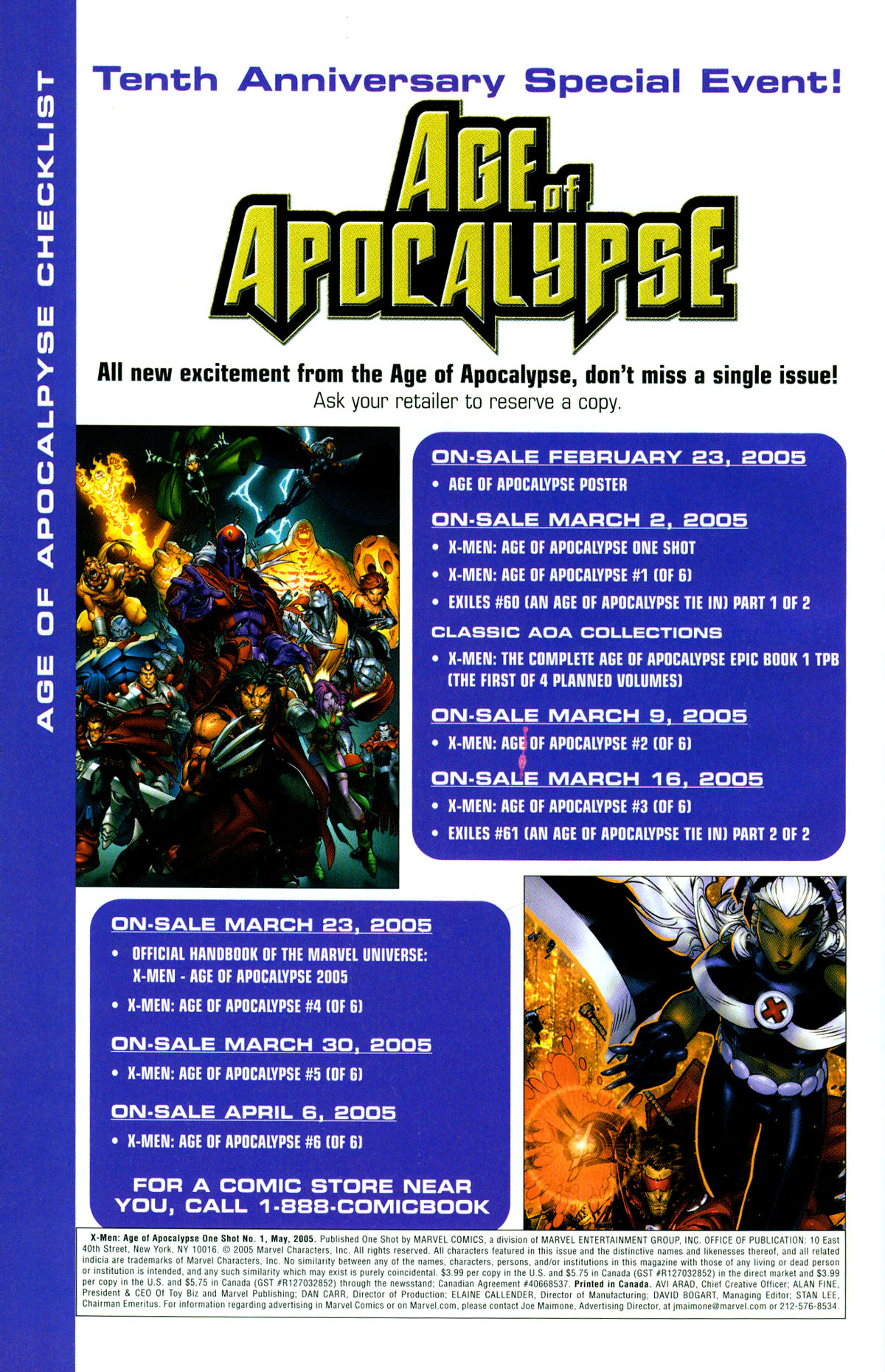 Read online X-Men: Age of Apocalypse One-Shot comic -  Issue # Full - 39