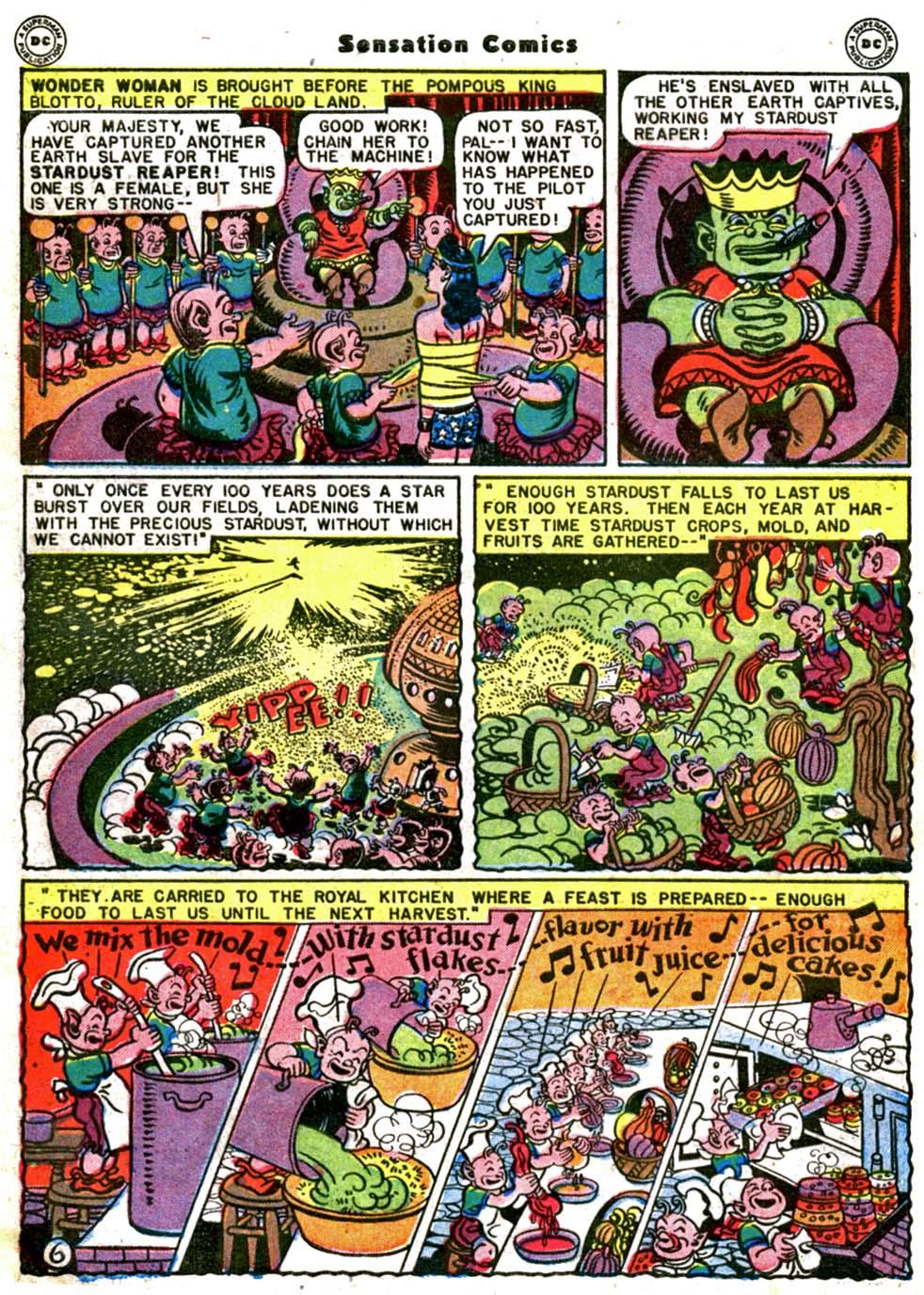 Read online Sensation (Mystery) Comics comic -  Issue #64 - 8